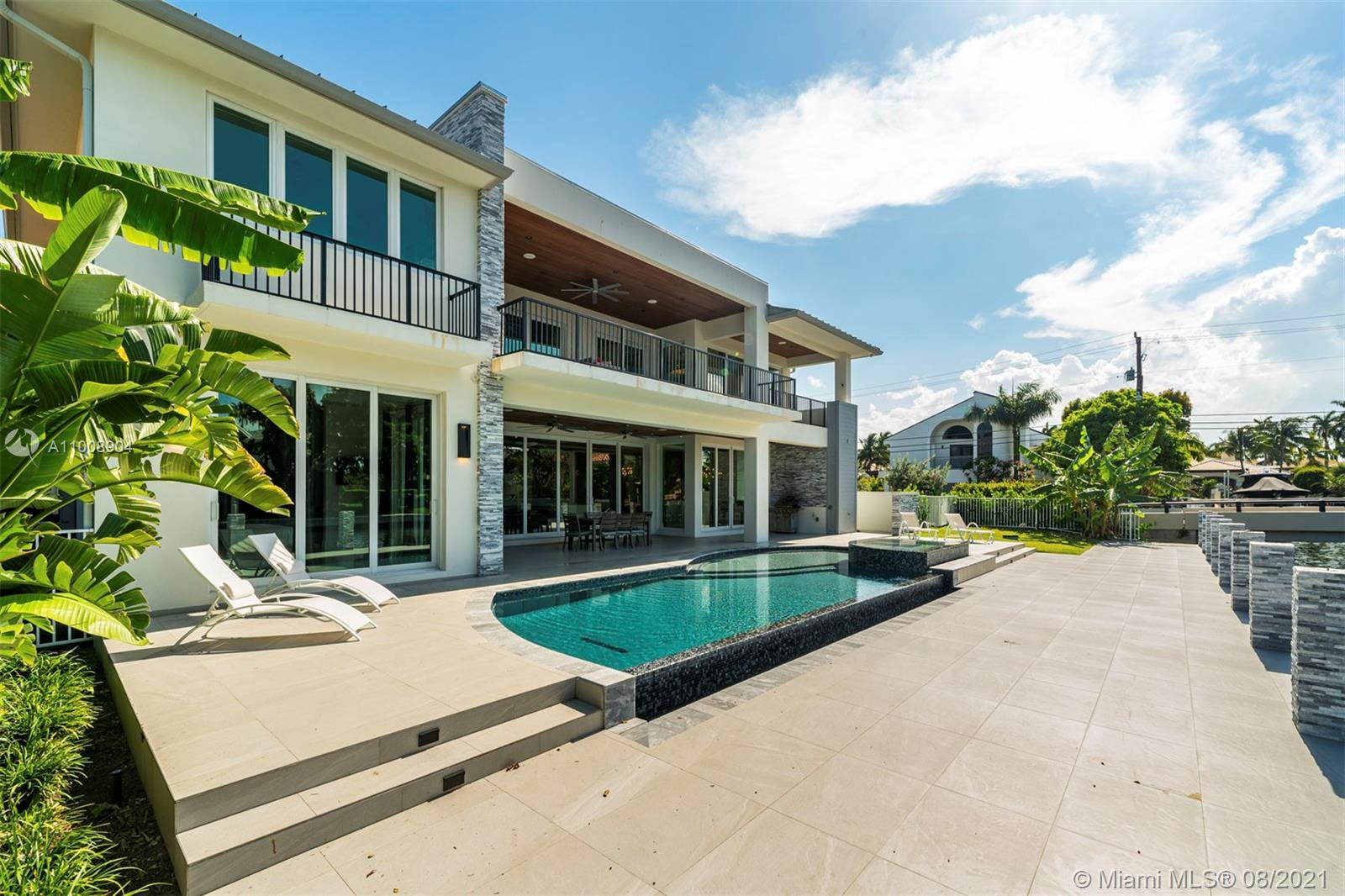 INCREDIBLE HOME IN ONE OF THE BEST NEIGHBORHOODS IN LAS OLAS, SEVEN ISLES. GORGEOUS OPEN & SPACIOUS FLOOR PLANS WITH EXPANSIVE OUTDOOR TERRACES PERFECT FOR ENTERTAINING. THIS HOME FEATURES A 3 CAR GARAGE, LARGE IMPACT WINDOWS & SLIDING DOORS THAT OPEN UP TO AN INCREDIBLE TERRACE, LARGE POOL WITH INFINITY EDGE & AN OUTDOOR CABANA BATH. FINISHED 100' OF WATERFRONT WITH QUICK OCEAN ACCESS PERFECT FOR A YACHT. SIX EN SUITE BEDROOMS WITH A LARGE MASTER & JUNIOR MASTER SUITE & SPACIOUS WALK-IN CLOSETS IN EVERY ROOM READY TO TRANSFORM INTO THE CLOSETS OF YOUR DREAMS. THE OPEN KITCHEN FEATURES MIELE LUXURY APPLIANCES GAS RANGE A WINE ROOM & A LARGE PANTRY. THE HOME IS COMPLETELY FURNISHED AND EQUIPPED, JUST BRING YOUR SUITE CASES. RSVP FOR OPEN HOUSE ON JUNE 5, 2020 AT 6PM.