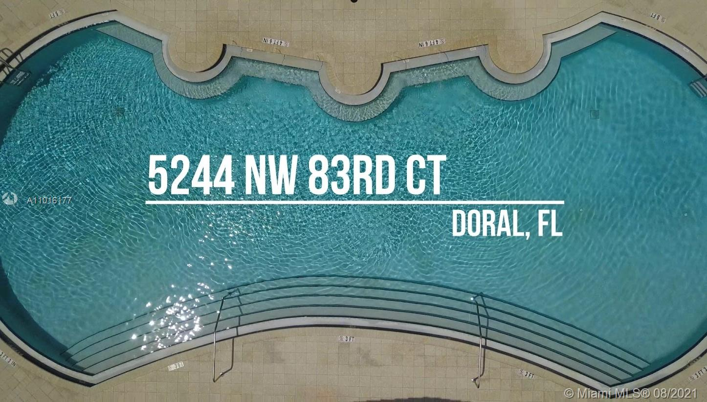 An exclusive house in the best location. Townhome Resort Style in the heart of Doral, 4 bedroom, 3 complete baths and a half in 3 floors. Tastefully upgraded. Travertine polished on the first floor and Wood Floors 2nd and 3rd, Top of the line appliances, all in the 2863 Sqft, with a Rooftop deck overlooking the pool.  You have children? no worries, you have an excellent elementary school a few walking steps from this house, and at nights or on the weekends you can eat at wonderful restaurants within walking distance. Be part of this exclusive area in the city of Doral. This property will exceed your expectations. Downtown Doral the best place to live. Don't lost this opportunity.  **First showings will take place Aug 4th & Aug 5th from 1:30- 3:00pm**.