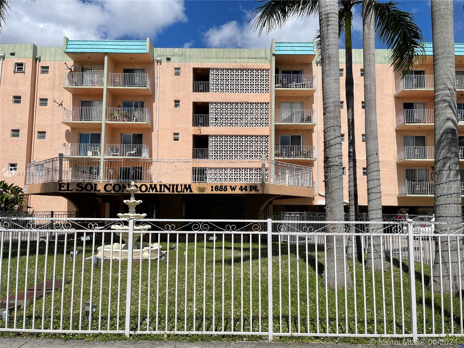 1655 W 44th Pl #516 For Sale A11016334, FL