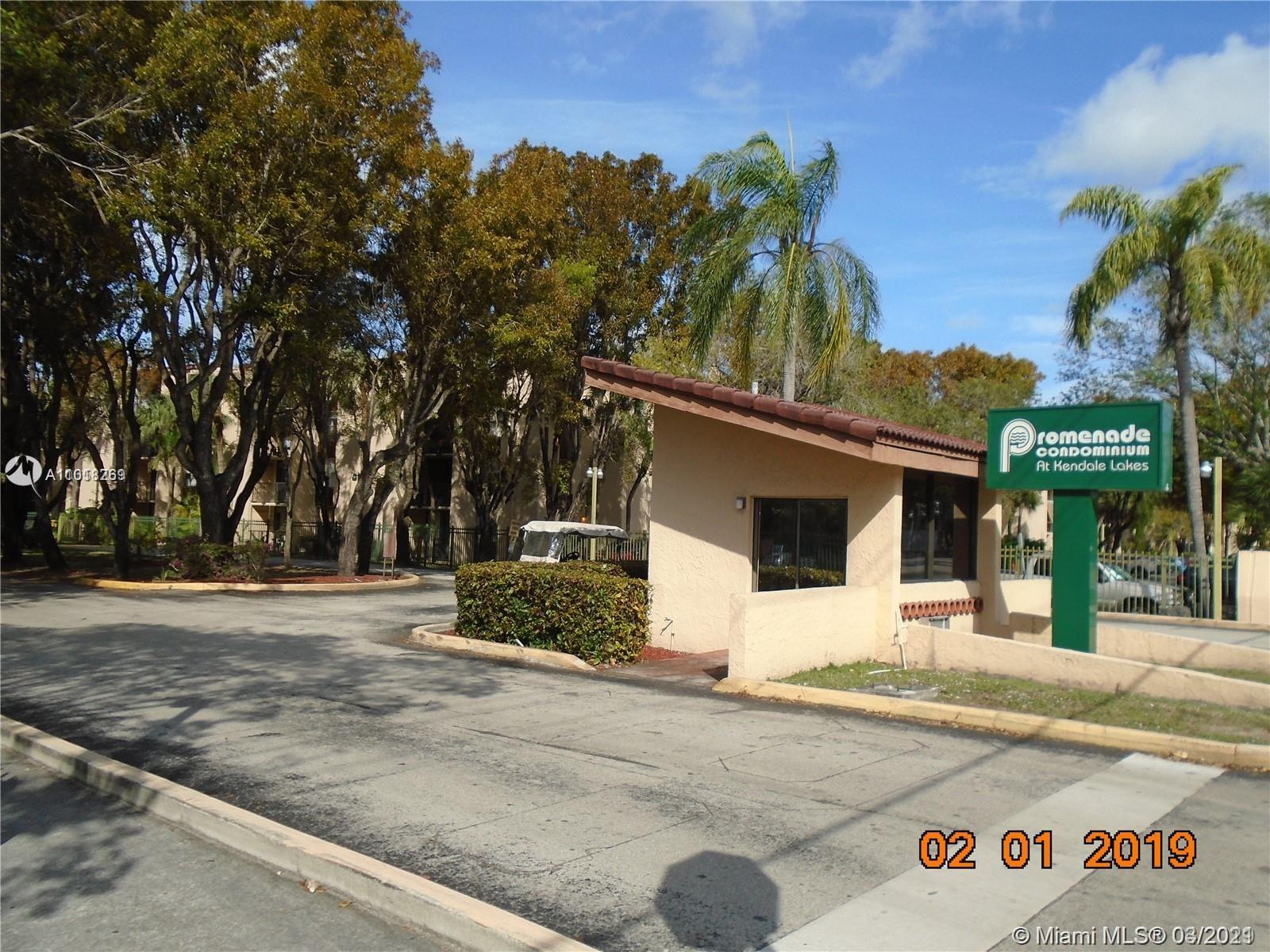 GREAT APARTMENT AT PROMENADE COMMUNITY. CENTRALLY LOCATED IN KENDALL WEST. FOURTH FLOOR. NICE COMPLEX WITH TENNIS COURTS, SECURITY, CLUBHOUSES. EXCELLENT INCOME PROPERTY. NO RESTRICTION ON RENTALS. WATER AND CABLE INCLUDED IN RENT. CALL L.A FOR MORE INFORMATION.