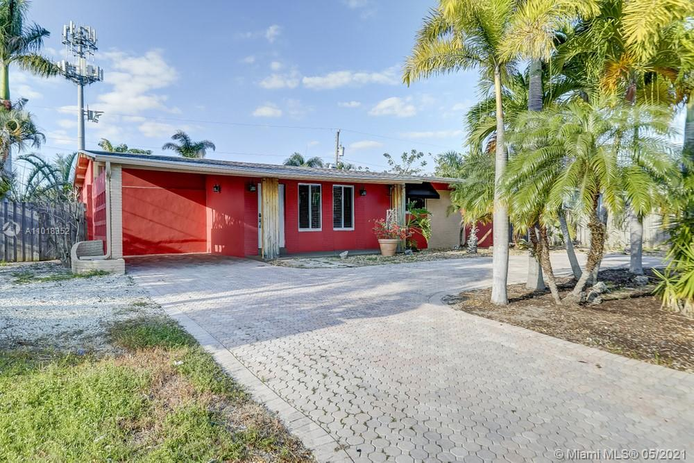 Fantastic 3 bedroom, 2 bathroom single family home with a NEW ROOF in Wilton Manors! This home featuresimpact windows and doors, a unique design and spacious layout. Throughout this home you will neutral paint and in the kitchen in this home is beautifullyupdated and features updated wooden cabinetry, granitecountertops, and stainless steel appliances. On the exterior of this home you will find a large pool and spacious patio area as well as a spacious circular driveway making this home perfect for outdoor entertaining and hosting. This property is not subject to HOA dues and is located in an A-rated school district!