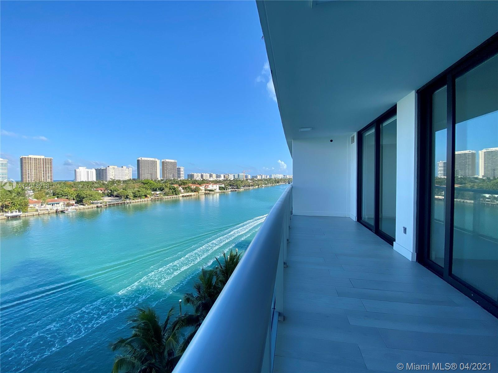 Bay Harbor's most prestigious boutique building. 1 Bedroom Plus Den with 2 complete bathrooms,  Master bedroom with walk-in closet, amazing views of the inter coast, ocean and city of Bal Harbour. Additional features includes 1 Storage unit and 2 Parking spaces assigned. Live walking distance to the Bal Harbour Shops, restaurants, beach and more.