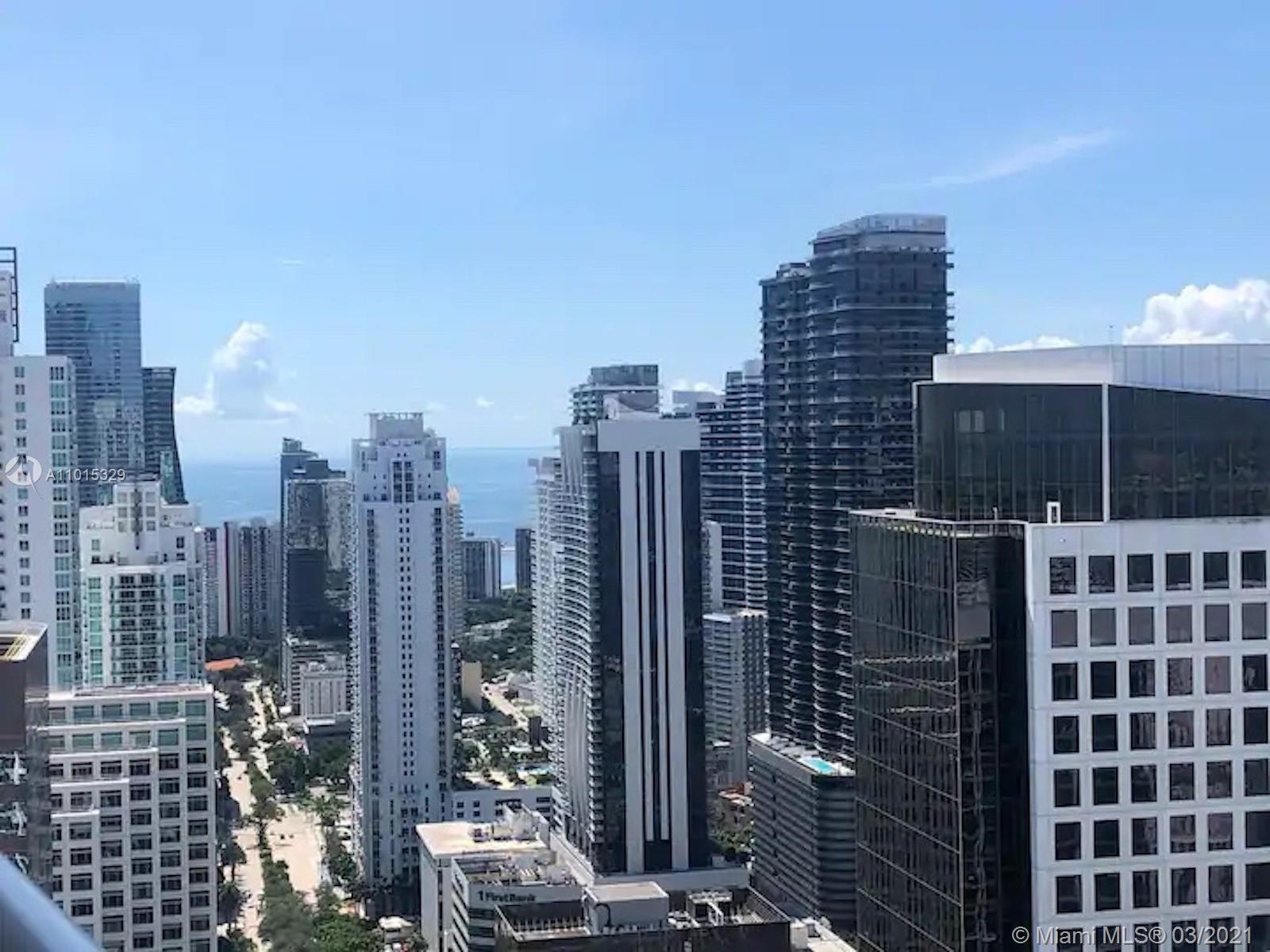 Amazing views from this penthouse located at the 49th floor. Turn key unit fully furnished in Icon Brickell tower 3 W Hotel 5 star condo with amazing amenities and with no short term rentals restrictions. 1 parking space and cable and internet included in the HOA. Great for investors or someone who needs flexibility, won't last!