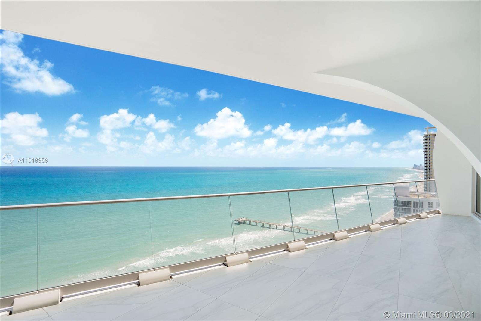 Impeccable unit in the exclusive masterpiece of Pritzker award-winning architects Herzog & de Meuron. The most desirable layout  including family room and maids quarters. Unobstructed, direct ocean, intracoastal and bay views. Private elevator and foyar entry, Snadeiro Kitchen with Corian quartz countertops and subzero applicances. Lots of amenities that provide a resort lifestyle where you can enjoy the Billiard Room, Sauna, Spa/Hot Tub, Exercise Room, Heated pool, Clubhouse-Clubroom, Library, Child and Teenage Play Area, Private Beach Pavillion, on-site Bar and Restaurant.