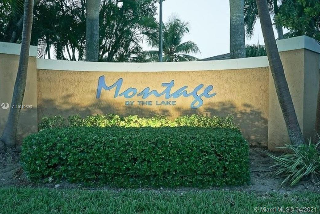 Fully remodeled 3 bedroom and 2 bathroom townhouse with waterfront views in a quiet community.   Close access to Turnpike/I-95, shopping and schools. New Samsung Kitchen stainless steel appliances (full size refrigerator, stove, microwave and dishwasher)  Updated kitchen and disposal.  New washer and dryer large capacity.  Master bedroom has vaulted ceilings with remote ceiling fan, lake views from veranda with a personal spa.  Updated bathroom.  Two additional bedrooms with new remote-controlled ceiling fans.  Upstairs bathroom fully remodeled. Large storage/utility off 1st floor veranda. Large 1 car garage with storage cabinets/laundry sorting and Hurricane Door. Newer a/c, new thermostat, completely serviced/maintained. Remodeled Deck. Roof Repair with 1 year warranty.