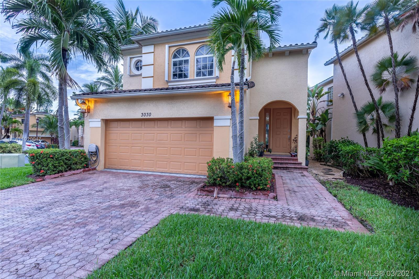 """Amazing remodeled 3 bed, 2.5 bath in the prestigious gated community of Aventura Lakes. This home sits on a 4,173 SqFt canal view Lot with plenty space for outdoor entertaining activities for your family and friend. Also it have new shutters installed and is being sold with top brand appliances. The community offers full equipped weight room, cardio room, babies playground, kids parks, pool, teens lunge with ping pong table, etc. Also there is 24 hours security patrols for your safety. Aventura lakes is conveniently near to the new complex built called """"Aventura Downtown"""" where there will be restaurants, Starbucks and much more and also Aventura Mall and other new shopping centers near by. Easy to show."""