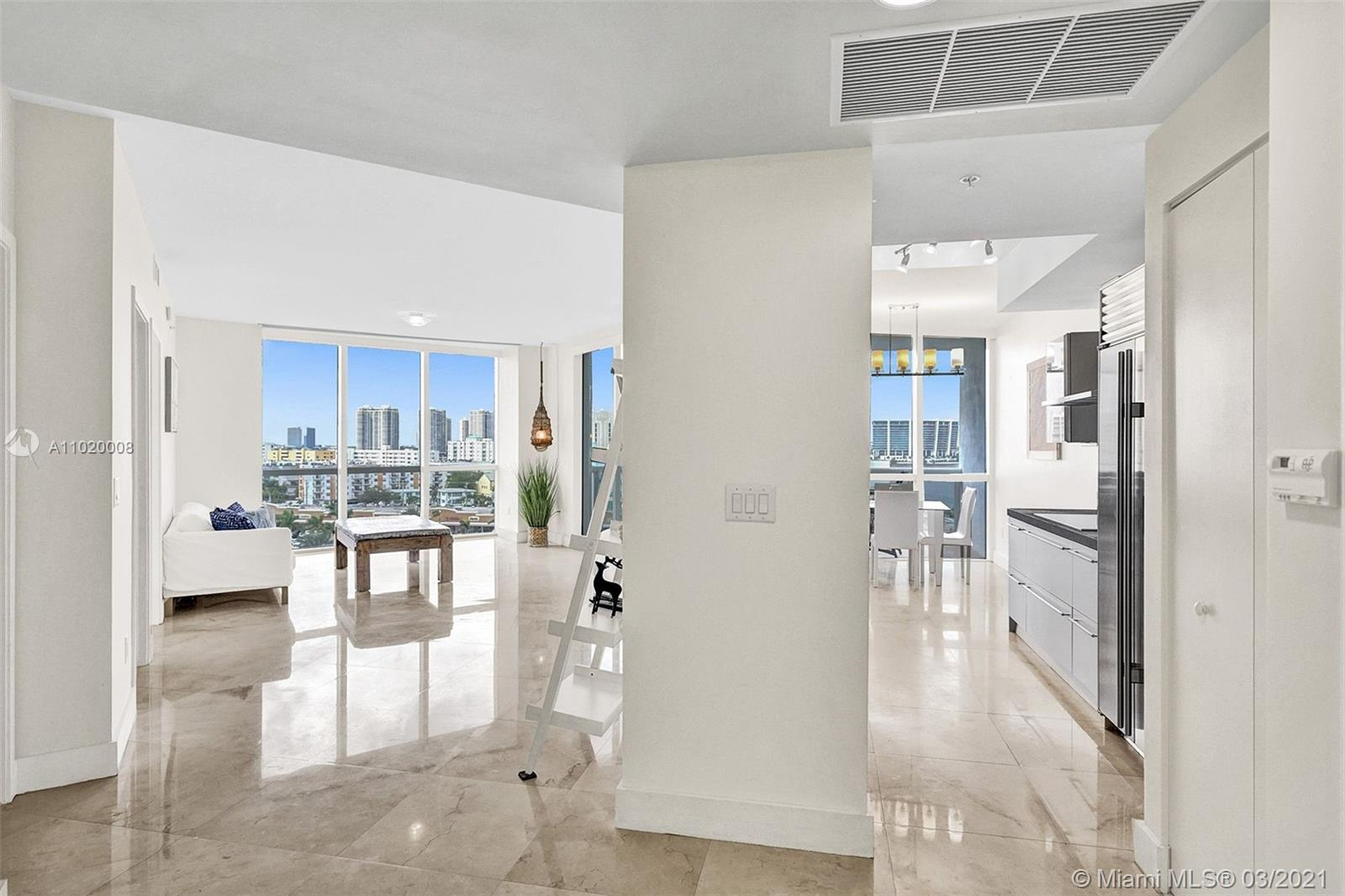 Luxurious 2 Bedroom / 2 Bathroom in Trump Royale. Stainless steel appliances, sub-zero refrigerator, marble floors and much more.. Great Location - 5 minutes from all the best supermarkets and shops in Sunny Isles Beach. 5-Star Hotel Amenities: GYM, Business Center, Tennis Court, 3 Swimming Pools, Jacuzzi, Sauna, SPA, Beauty Salon ,Valet Parking, 24-hour Security. Walking distance to Sunny Isles Norman Edelcup K-8 School.