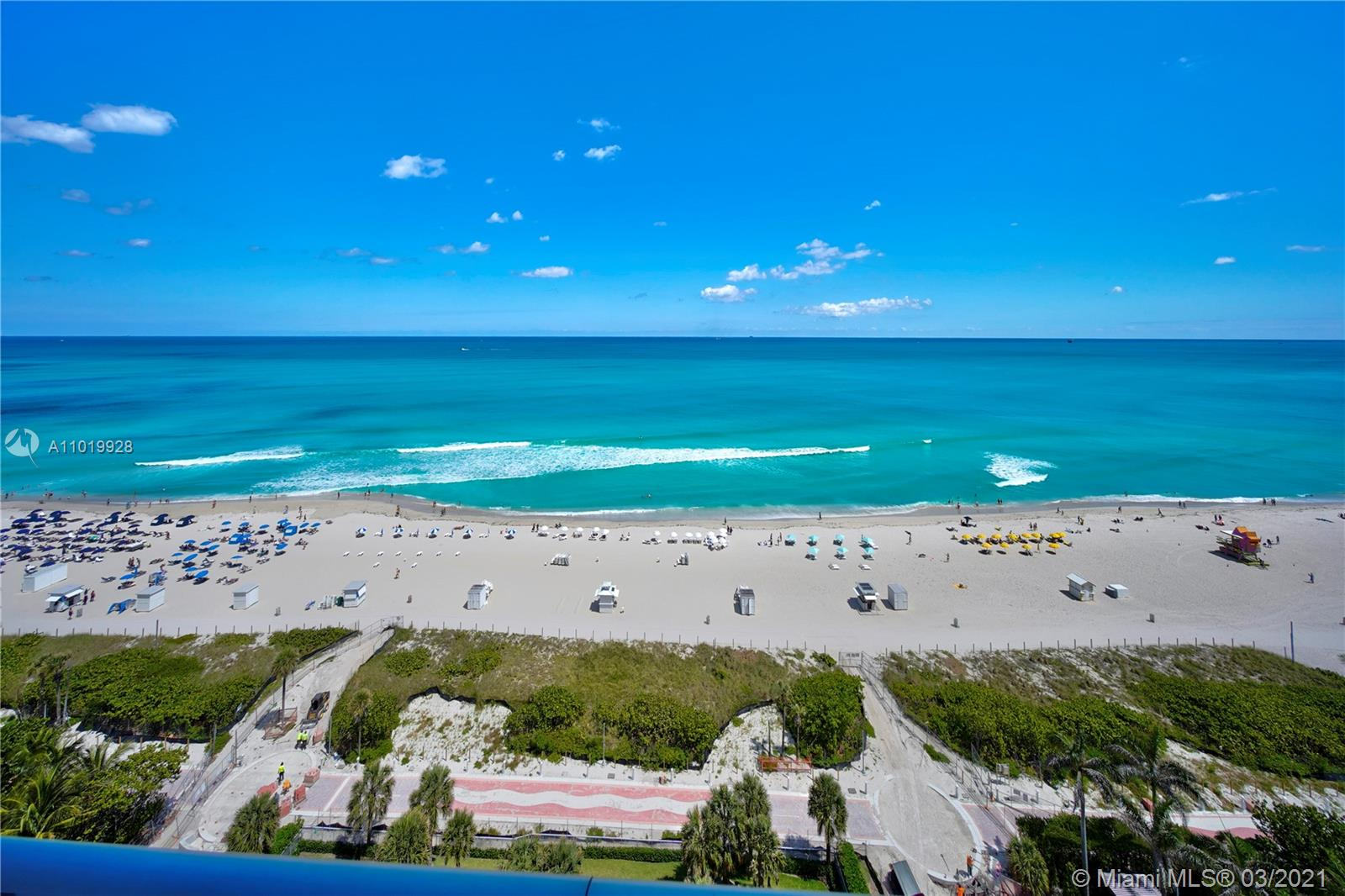Rarely available High Floor at The Caribbean. Direct Ocean Views! Takes your breath away. The 14th Floor 3BR/2.5BA condo with over 800 sq ft. wrap-around balcony is a must see. Floor to ceiling windows throughout. European Kitchen w/Miele appliances, sub-zero, gas range. Strong focus on clean lines with white flooring throughout. Private & Secure living. Building offers Beach and Pool Service, 24 Hr Staff, Gym, Private wine cellar & humidor. Located in Miami Beach Faena District. The Caribbean is Beachfront, with the Miami Beach Boardwalk in your backyard. Nearby hot spots include Fontainebleau, Soho Beach House, Faena and Edition.