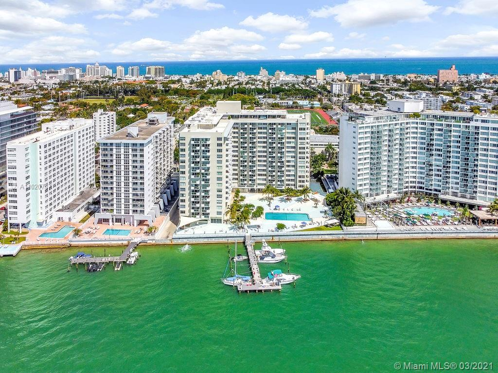 Take in the wonderful view of the sunset over the beautiful skyline of Miami in this remodeled 2 bed/2 bath condo. Split floor plan layout provides privacy. Washer and drier in the unit. The Mirador is bay front with excellent amenities including pools, full Gym, boat docks, business center, concierge, 24 hour security, valet, this unit includes covered secure parking and much more. The unit is 1071 sqft internal area not included the balcony area.