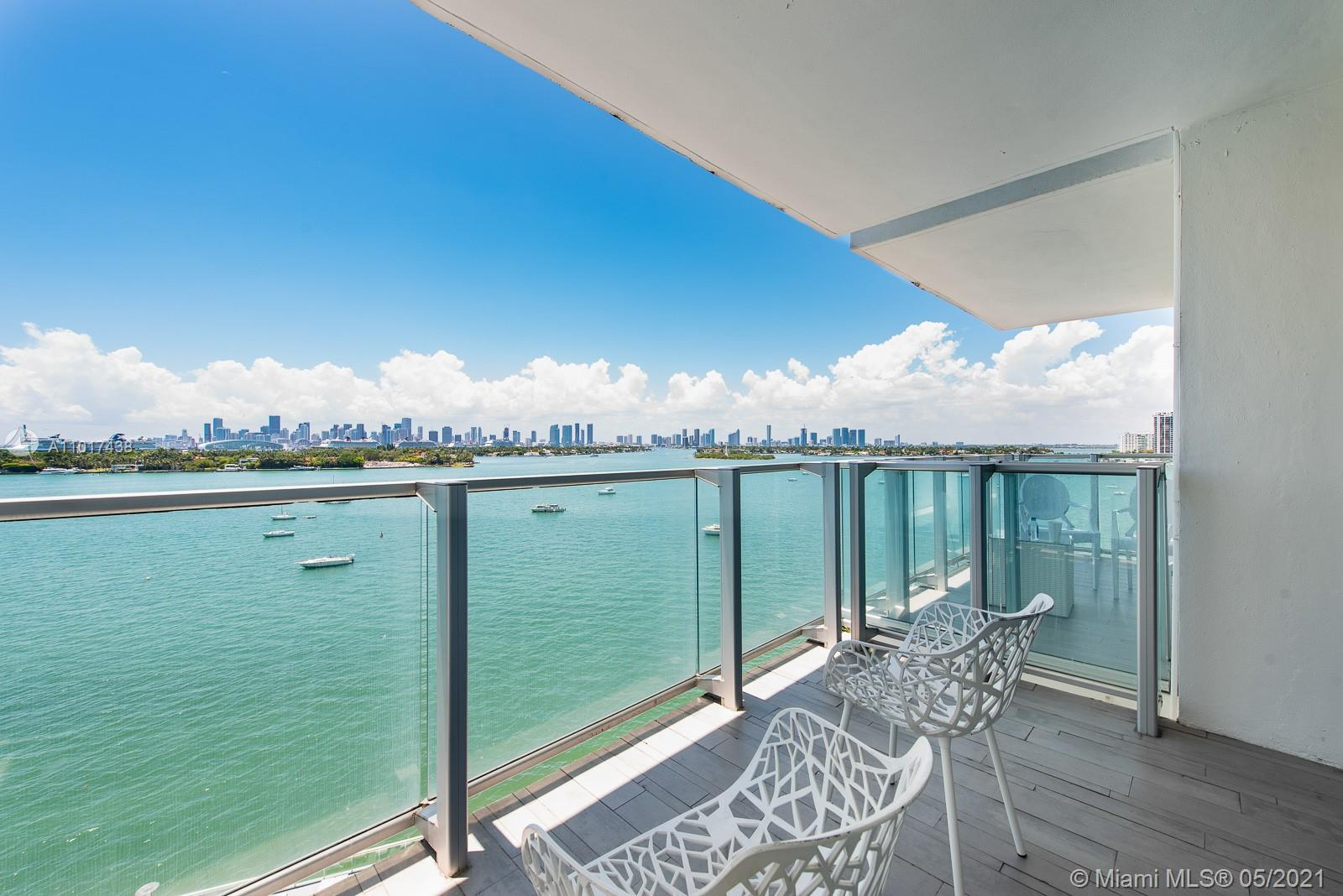 Be a part of the quintessential super high end South Beach experience. Enjoy the immediate pool scene from your private balcony. With phenomenal bay/sunset views from this 9th floor 1 bedroom! All of the privileges of the exclusive Mondrian South Beach hotel. Unit is fully furnished and designed by Marcel Wanders. Live life on waterfront West Avenue one block from Starbucks & Whole Foods Market as well as a short distance to Lincoln Road. Hotel went through major renovations in 2020.