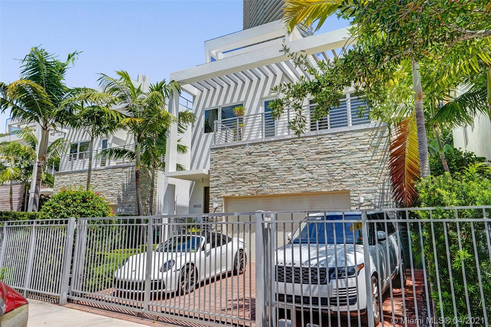 This contemporary single-family home designed by Kobi Karp offers 5 bedrooms, 4.5 bathrooms, 3200 sq ft of living space, and a 1500 sq ft rooftop terrace to watch the sunsets. The 2015-built gem is the only one of its kind for sale in this prime location (Lot #2), less than a 5-minute walk to the beach. This beautiful house offers two spacious stories and ocean views from the third-floor roof patio. 36 x 36 Glass floors throughout the 1st floor, an Italian Snaidero kitchen, Viking appliance 11ft ceilings, California closets, and much more. A resort-like backyard with a heated saltwater swimming pool and barbecue makes this the perfect home for entertaining and everyday paradise living. The home also includes a 2-car garage and gated driveway. NO HOA, NO Rent Restrictions