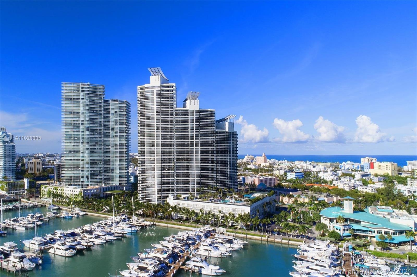 Gorgeous 3 Bedroom and 3 & Half Bath condo in prestigious Murano Grande building in the upscale South Pointe area of South Beach. Unit is 3058 sft in sought-after Line 03 of the building, with flow-through floor plan, two large balconies with spectacular water and city views. Unit has marble floors, two A/C units, top of the line kitchen appliances & private elevator foyer. High-end amenities such as SPA, Gym, Pool, Tennis court, Recreation room, 24 Security & Front Desk service, Valet Parking and more. Walk to the beach, stores, best restaurants of South Beach.