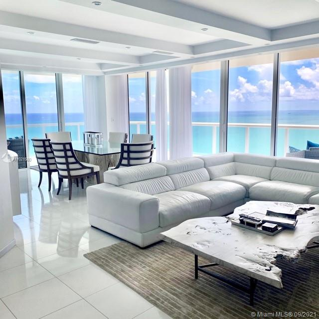 """""""CONDO IN THE CLOUDS"""" located in the highly sought after AKOYA Luxury Condo in Miami Beach 38 floors high into the clouds. Ocean front WRAP AROUND BALCONY with PANORAMIC views overlooking beautiful MIAMI BEACH crystal blue waters. Fully furnished by AWARD WINNING designs of ARTEFACTO. Over 1700 sqft of pure luxury, THASSO marble floors. Every room has absolutely spectacular oceanfront views. Originally a 3 bed 2.5 bath converted into 2 full master bedrooms with 2 full bathrooms and a half bath, 2 parking spaces conveniently located next to building entry door. Fingerprint building access. Amenities include, sauna, racquetball, tennis, golf, 24hr concierge, pool, direct beach access, BBQ and much more. This is a luxurious dream vacation home in the clouds. *RATES MAY VARY* Seasonal Rental."""