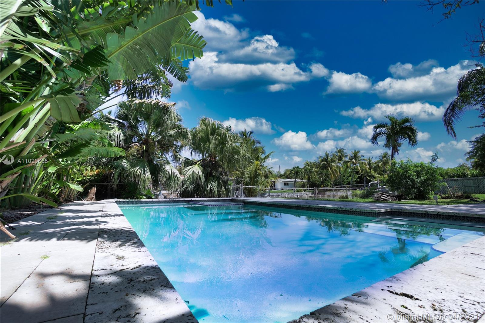 DREAM HOUSE  OPPORTUNITY ! Beautiful 3bd 3bath waterfront and pool home in prestigious, gated Biscayne Point in Miami Beach. Oversized back yard with 60 feet water frontage, private dock and boat lift. Wide canal with ocean access. This home is very spacious with open living and dining areas, florida room and more. Located 5 minutes from Bar Harbor Shops and 5 blocks away from the beach, walking distance from Biscayne Elementary School (highly rated). Property is in a good condition, needs TLC- selling as is.