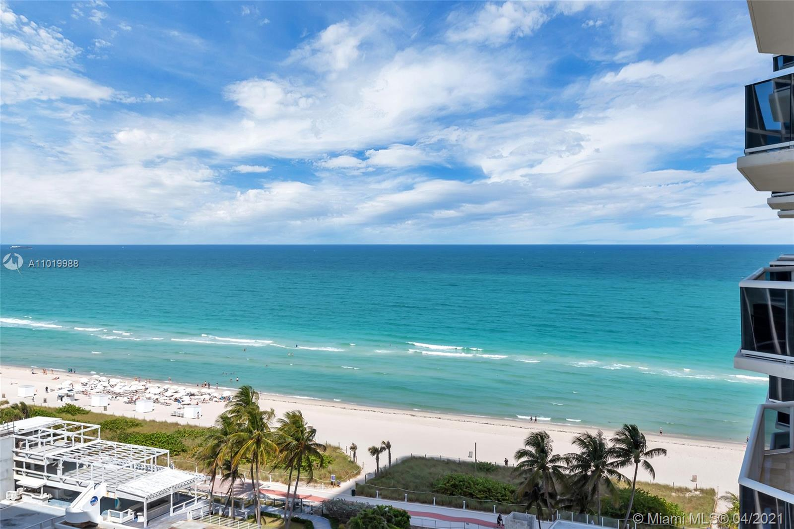 Spectacular renovated corner unit with breathtaking views of the ocean, bay, and Miami city skyline providing plenty of natural light. Unit 1407 is a 2 BED / 2 BATH, 1136 SQFT featuring modern finishes such as white porcelain floors, open kitchen, granite countertops, and a breakfast area overlooking the ocean & beach, Built-in closets, and spacious bedrooms. Blue and Green Diamond include 5-star amenities and are just minutes from SOBE, the performing Arts Center, Downtown, Miami International Airport, and world-renowned Bal Harbor Shops. Call listing agent for showings and information.