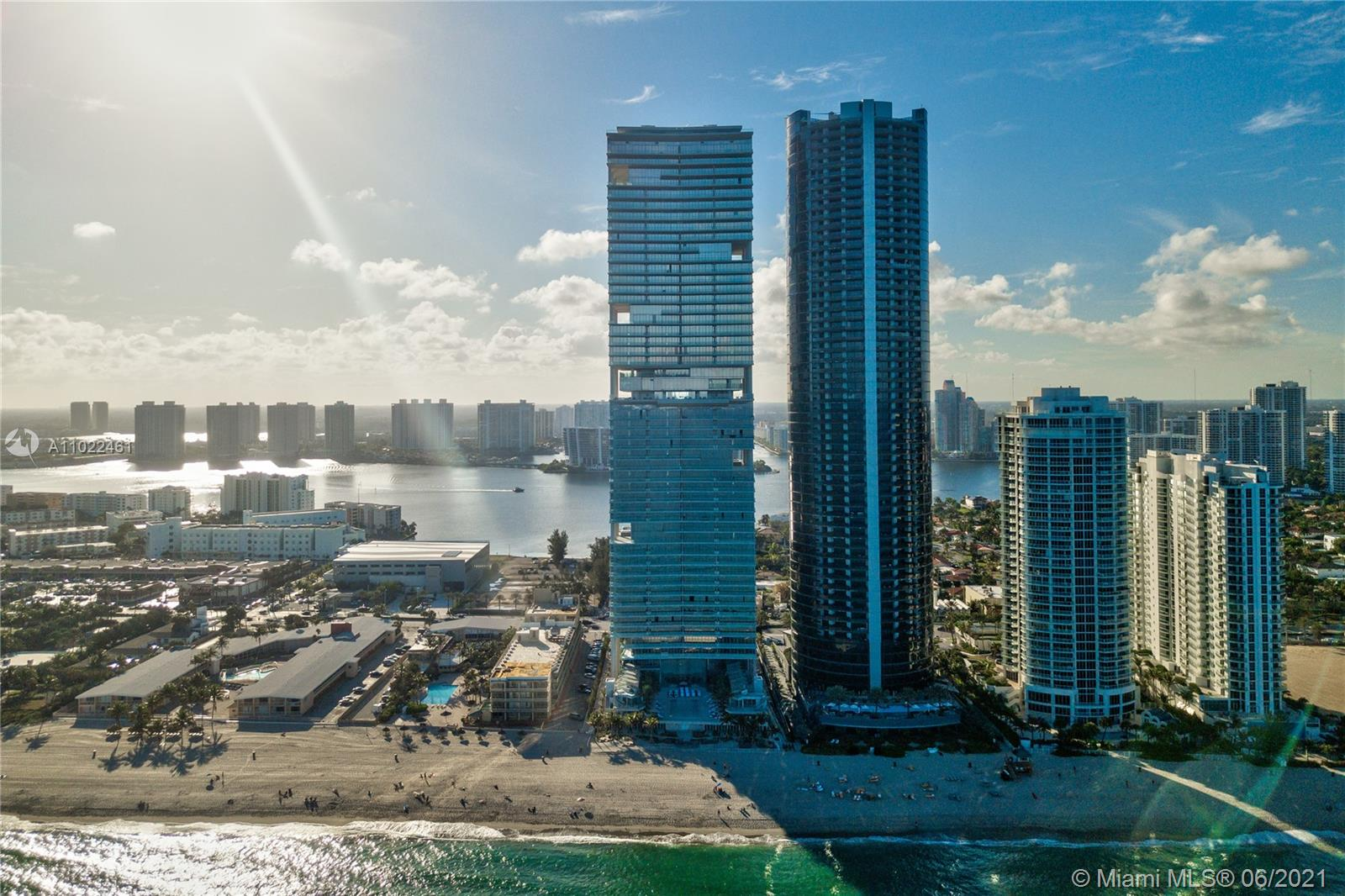 MOVE-IN READY. NO developer Fees. Ultra-luxury, beachfront Turnberry Ocean Club, offering a lifestyle of luxury and sophistication like none other. Unit 1503 is a 3 BED/4.5 Bath + bonus room. This flow-through residence offers the best of two worlds: direct Ocean & Intracoastal Views. New Italian Porcelain flooring, new custom made closets and remote control windows treatments. Gaggenau® appliances: convention & steam ovens, warming drawer,  microwave, induction cooktop, integrated coffee espresso/cappuccino maker, & wine cooler.  Steam shower in master. Summer kitchen in sunrise terrace. Turnberry OC offers first-class amenities: 3 swimming pools, private dining, Spa, fitness center, dog park, kid's room, theater and more. BEST LOCATION in Beautiful Sunny Isles. Tenant Occupied.