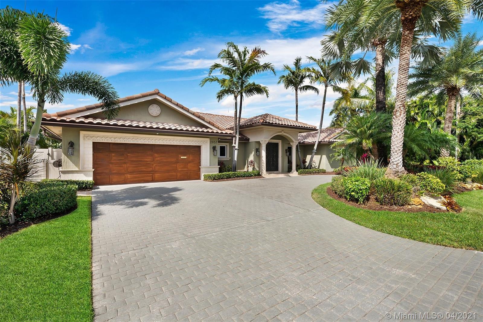 2857 NE 36th St  For Sale A11022578, FL