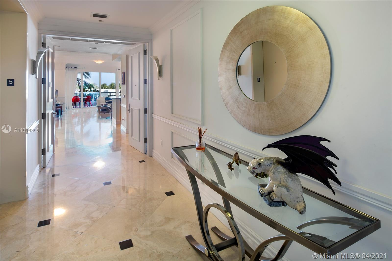 A spacious lower floor apartment at the Continuum South Beach, a gated oceanfront community in Miami Beach.  This 2/2.5 apartment has an open floorplan and a grand terrace with garden-type views that overlook the pool and ocean.  Feels like a townhome. The apartment has ten foot ceilings, an open kitchen design and modern features and finishes.  Continuum is a full-service private community with over 12 acres of resort amenities, a private beach club, three pools, tennis courts, a restaurant and a world-class health and fitness pavilion.  Continuum sits at the south point of Miami Beach, in the SOFI (South of Fifth) district.