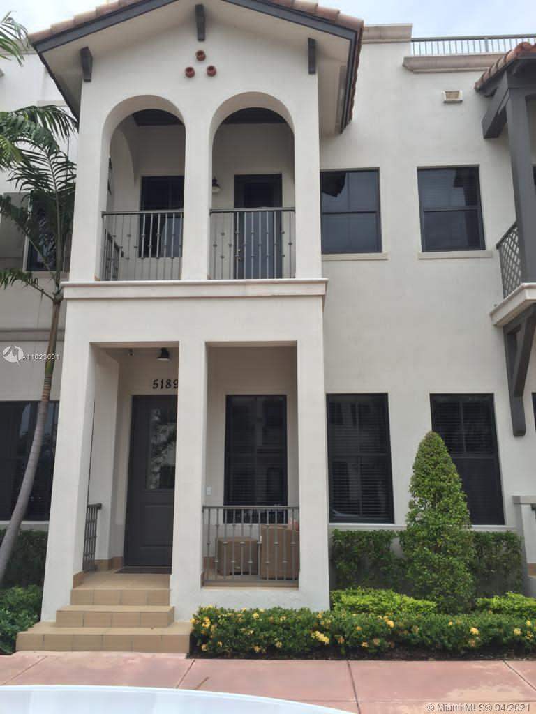 Gorgeous Townhome in Downtown Doral. This prime luxury 3 story Townhome is featuring 3|2|1/2 . Three Bedrooms on second floor,  Open Kitchen. Full of upgrades; European Cabinets and top-of-the-line stainless Steel Appliances Sub Zero. High ceilings , enjoy the views from the Open Balcony , walking distance of Dowtown Doral Premium Restaurants , shops , charter schools , close to Miami International Airport and more. Won't last this great opportunity. Best Price on the Market.