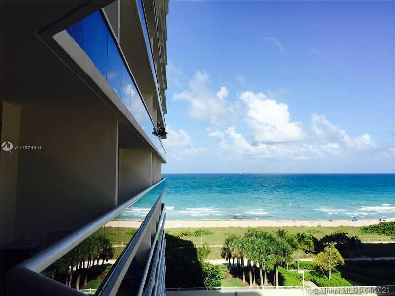 LUXURIOUS OCEANFRONT BUILDING IN EXCLUSIVE SURFSIDE! SPACIOUS OCEAN VIEW APARTMENT, 3 BED/3 BATH 1,750 SQ FT TOTALLY UPDATED, MARBLE FLOORING MODERN, NICELY FURNISHED. STEPS AWAY FROM BAL HARBOUR SHOPS, RESTAURANTS, AND HOUSES OF WORSHIP