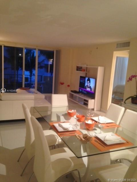 Adorable 1 bedroom apartment that has been renovated.  Low floor however, you see ocean from your balcony.