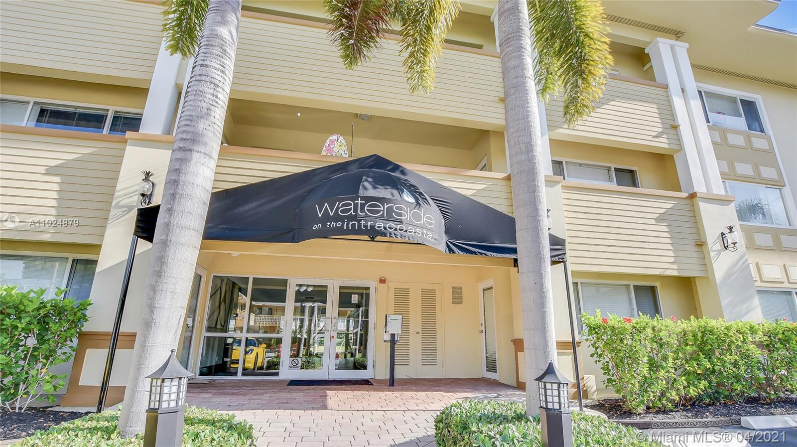 """In connection with a US Bankruptcy Trustee Sale. Property is sold """"As-Is,Where-Is"""" with no representations, warranties or guarantees of any kind, whether stated or implied by the Trustee and/or his professionals. Buyers must conduct their own due diligence. Please contact listing agent for sale procedures and details. Beautiful intracoastal and canal views from this top floor unit. The unit has impact doors and windows, granite countertops, and stainless steel appliances. Located close to the beach, shops, and restaurants. Pet friendly building."""