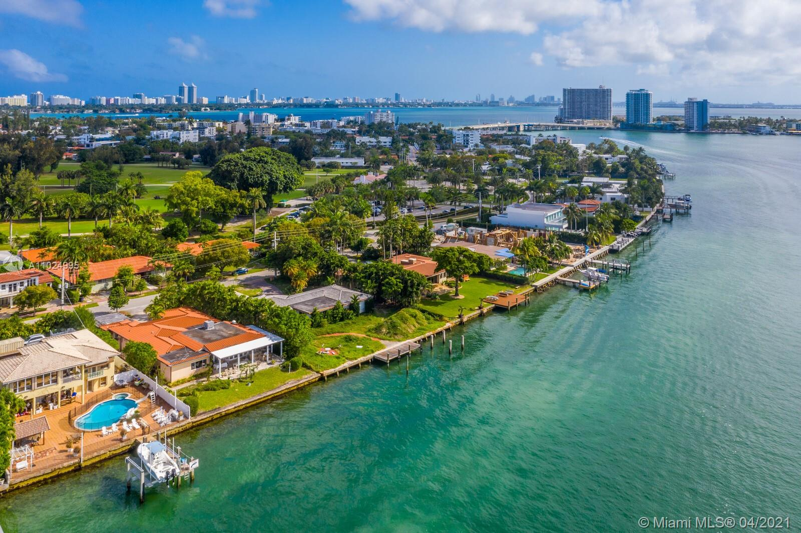 Rare opportunity to own one of the largest lots on the Miami Beach island of Normandy Shores. With over 18,000 sq. ft. and more than 105 ft. of wide open-bay views, this dream property is ready to become your custom tropical oasis. The privately gated neighborhood boasts several luxury amenities including an 18-hole golf course, a club house, waterfront parks & tennis courts. This property won't last long! Call/text to schedule your private preview.