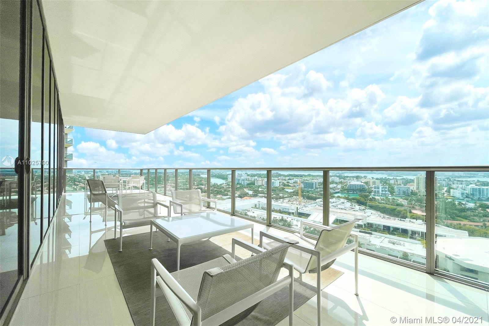 Live at one of the finest addresses in the world! Discover St. Regis, Bal Harbour highlighting extraordinary living & incredible endless 5 star amenities! Immaculate partially furnished designer residence by Steven G features a 1,599SF split floorplan, 2bd/2.5ba, floor-to-ceiling impact glass & 455SF corner SW terrace offering skyline, sunset & bay views. Finishes incl. marble floors, European cabinetry, high-end appliances; Wolf stove, Meile espresso machine & wine cooler. Spacious Master offers 2 glass walls, built-out closet & spa-like bath w/ dual sinks & separate whirlpool tub/rain forest shower. St. Regis, Bal Harbour offers; 24-hour concierge, room service, cabanas, 4 pools, 3 restaurants, daily fitness classes, 14,000SF Remede Spa & more directly across from Bal Harbour Shops!