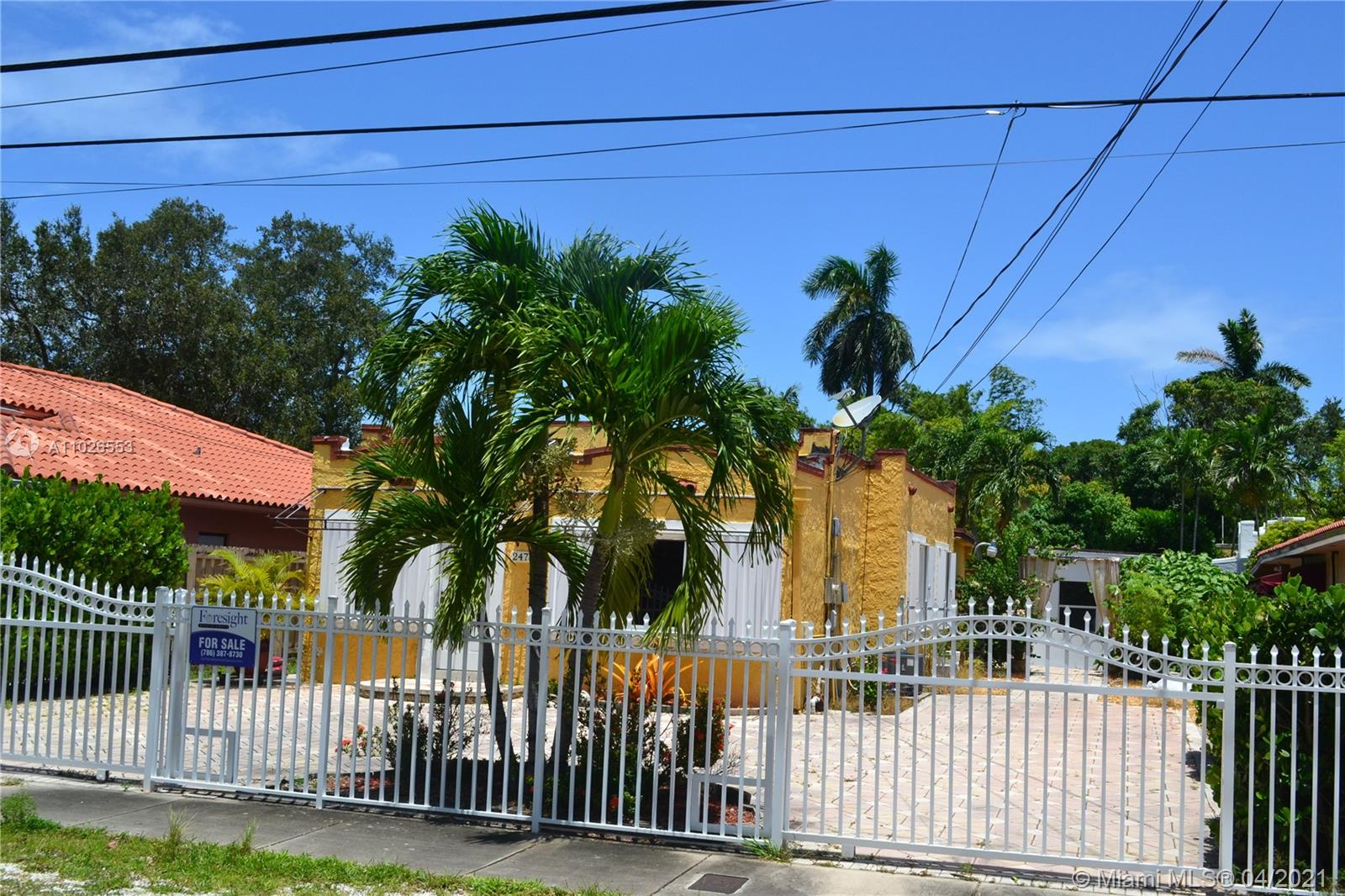 Great Opportunity to buy a Spanish Style Single Family Home at Stuart Subdivision nearly Coconut Grove, Downtown Miami, Coral Gable Shenandoah and The Roads. Main house is 3/2 with Stainless Steel Appliances, Granite Counter top, Tiled throughout and 2/1 Guest House with tiled throughout. Easy access all Expressway like I-95, Dolphin Expressway toward Miami Beach and Miami International Airport. Great for investor and first time buyers. Buyer need to review the attachment before make the appointment. Buyer is aware and acknowledges that there may be property defects, open or expired permits, code violations and/or liens against the property and assumes all and full responsibility for them. Buyer shall resolve all the outstanding issues after closing. Property is selling AS-IS.