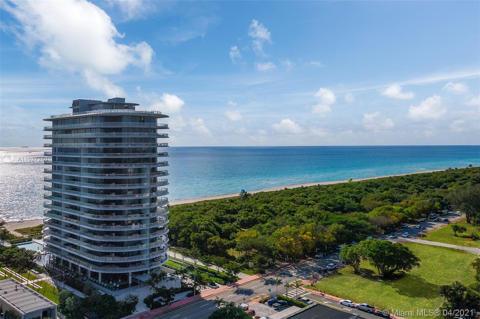 This stunning oceanfront condo—available furnished by TAL Studios—represents the pinnacle of indoor/outdoor living for the modern era, encompassing 3,162 SF+/- of interior living space, 4 bedrooms, 3 full and 1 half bathrooms, fresh modern interiors, and an astounding 2,280 SF+/- of oceanfront terrace that promises breathtaking ocean, bay, park, and city views from every vantage point.