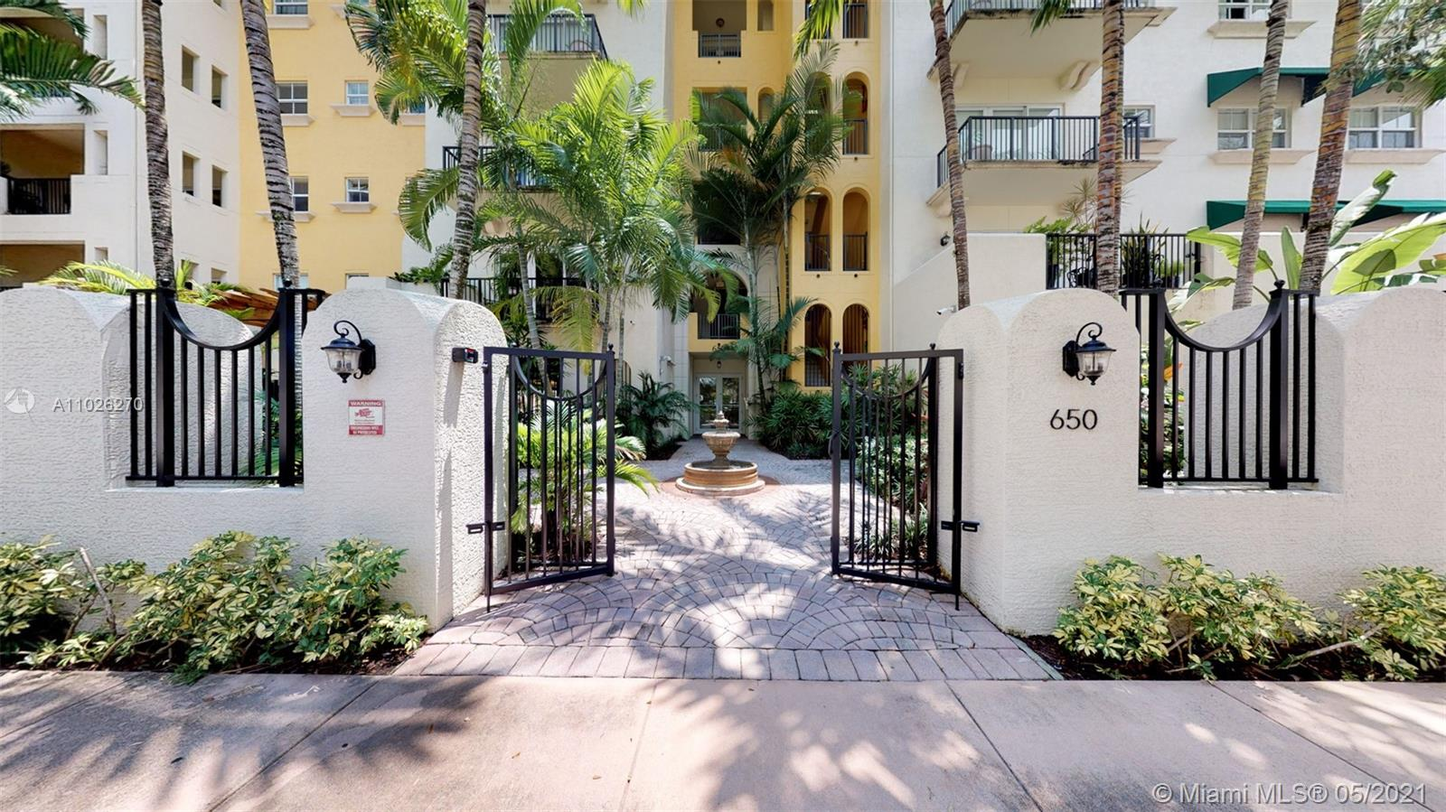 """""""COME TO SEE THIS IDEALLY LUXURIOUS CONDO LOCATED IN THE HEART OF CORAL GABLES. """"AT """"VALENCIA GRANDE"""" TWO BLOCKS FROM MIRACLE MILE SHOPPING & RESTAURANTS, ENJOY THE BENEFITS OF CONDO LIVING AT THIS PRIVATE, PEACEFUL AND PERFECT UNIT 3Be, 3Ba, WOOD KITCHEN CABINETRY, TOP OF THE LINE S/S APPLIANCES, WINE COOLER, SEMI PRIVATE ELEVATOR, HARDWOOD FLOORS AND UPGRADED T/OUT, IS THE PERFECT PACKAGE WITH ALL THE EXTRAS INCLUDED. VERY EASY TO SHOW, GO TO SHOWING TIME, DELAY MAY MEAN DISAPPOINTMENT. CLA TODAY !!!"""