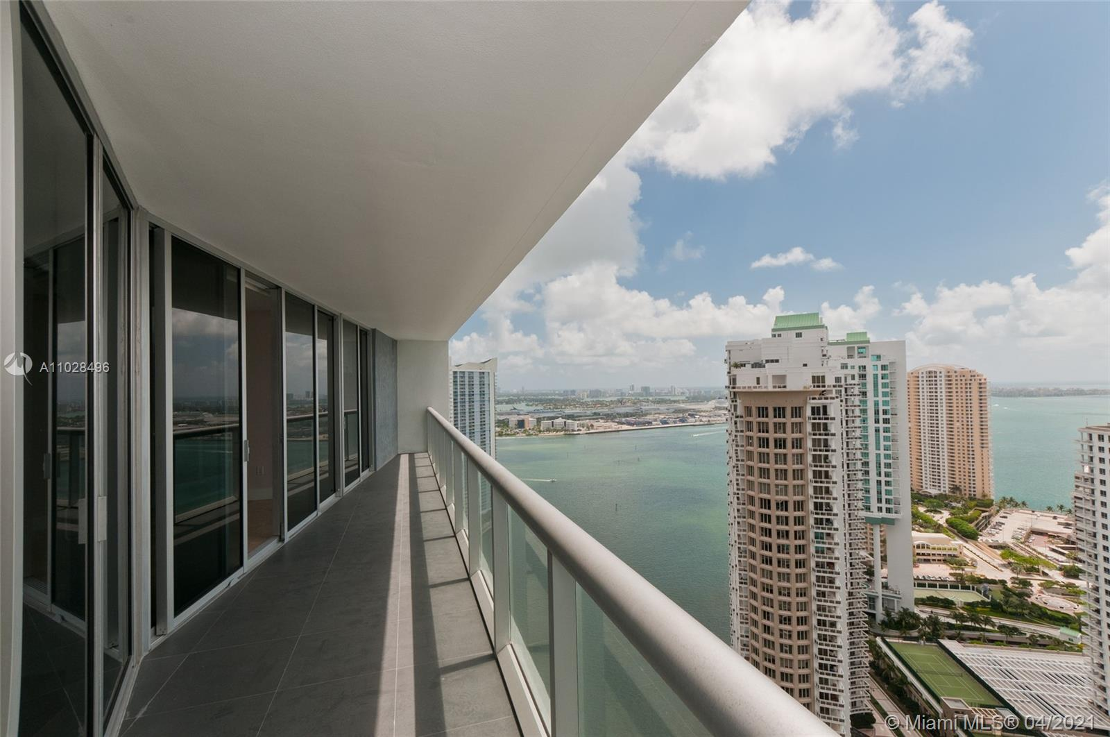 Beautiful and elegant 2 bedrooms plus den that could be use as a guest area, office or middle room. The unit offers wood floors, open kitchen, large balcony and excellent bay views. Icon complex is a STATE of the art Miami landmark. As per Icon Brickell website, the architecture, by the world renowned firm Arquitectonica, is unique and ultra-contemporary, perfectly paired with the interior design by Philipe Starck. Olympic-length pool overlooking Biscayne Bay, outdoor fireplace, its exceptional spa, and its lushly landscaped outdoor living room, are some of the distinct amenities that make this building a true icon. Recently, Viceroy hotel has been acquired by W Hotels adding more prestige to the complex
