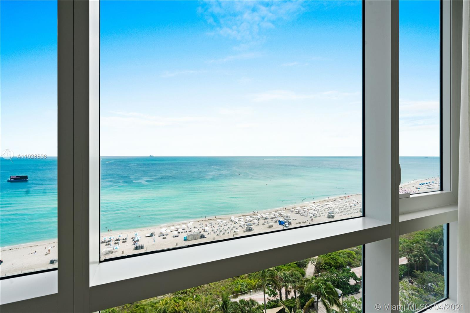 This beachfront private residence, located inside South Beach's eco-conscious 1 Hotel & Homes, is the perfect choice for that family vacation. Positioned on the Atlantic Oceanfront with 600-feet of direct beach access. This luxurious unit has a direct ocean view, environmentally friendly features & thoughtful touches throughout create a fusion of luxury and environmental consciousness. Enjoy the amenities of a 5-star resort with all the comforts of home.