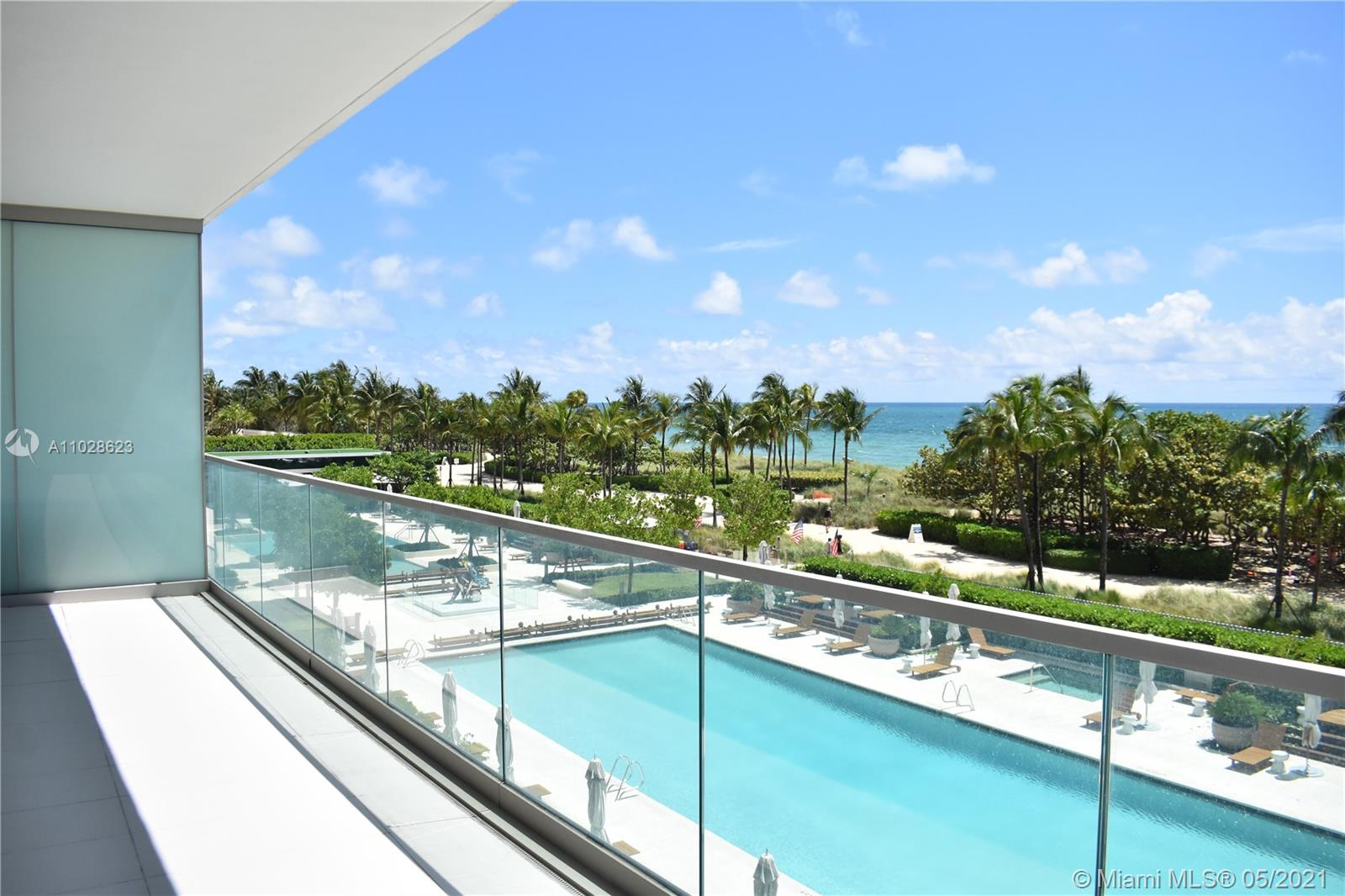 Ocean front corner unit with 2 beds, 2 1/2 Baths at the beautiful & desirable Oceana Bal Harbour. As you open the windows to your wrap-around terrace you will be immediately connected to the vibrance of the Ocean, sound of the waves and the beauty of the palm trees right in front of you. Oceana with 4.8 acres of land accommodates many amenities such as 2 tennis clay courts, 2 swimming pools, private restaurant, cabanas, movie theater, 5-star spa and gym facilities and lots of art throughout the property. The prized Jeff Koons' Pluto and Proserpina, a stainless-steel sculpture that stands over 10 feet tall and Ballerina right between the 2 pools are the jewels of Oceana. When people come, they just fall in love with Oceana. This unit is currently tenant occupied. Call or text for more info.