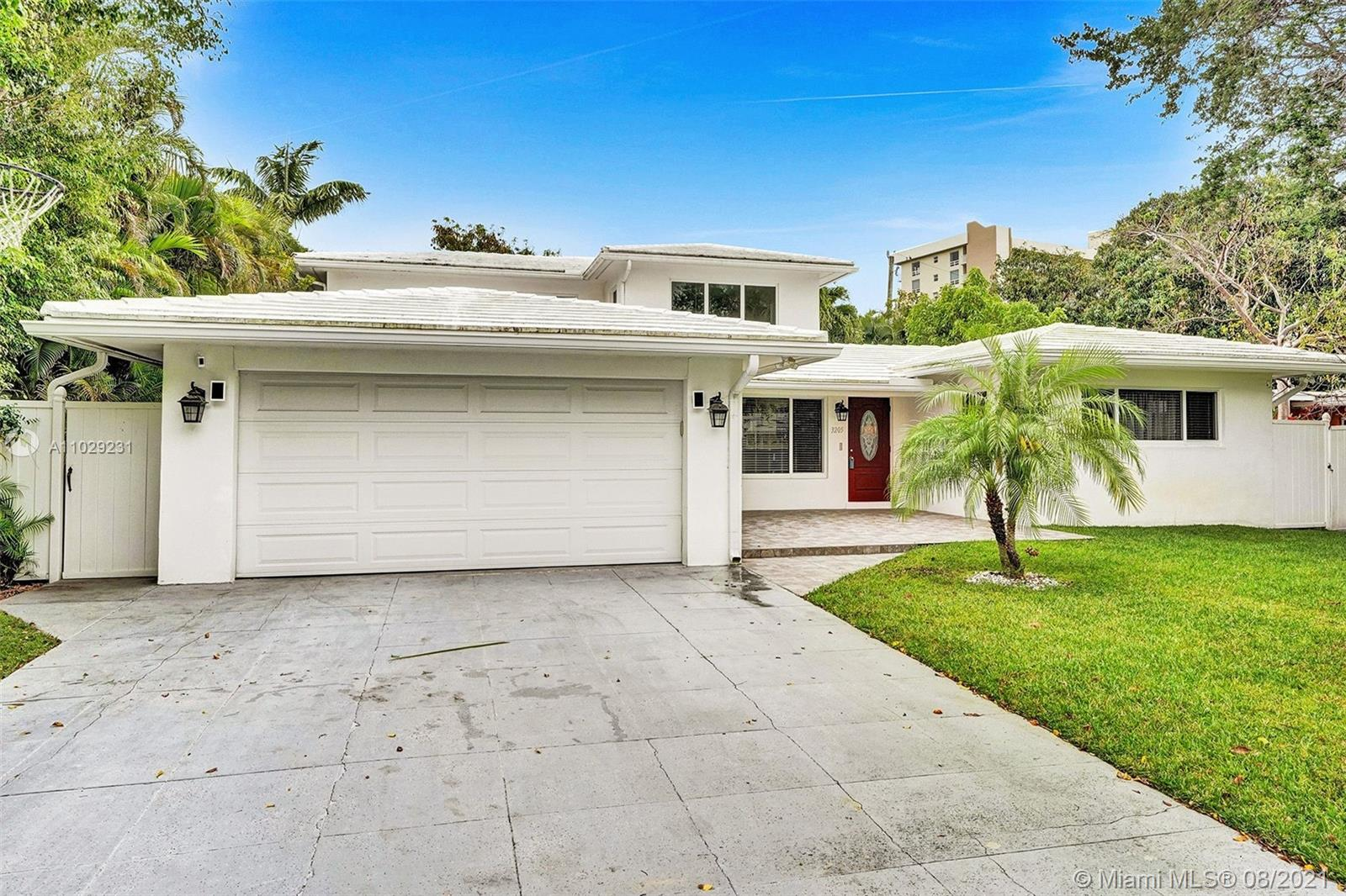 Killer Location Location Location! Gorgeous and spacious two story home with 4 beds and 4 bath in highly desirable East Pompano Beach. Updated electrical system, code compliant hurricane impact windows and doors, cathedral ceilings, second floor master suite with spacious loft area, walk in closets, 2 car garage with extra long driveway, separate laundry room and work bench for all your projects, tons of storage and over 3000 sq ft. under air with a bright, open feel that's perfect for entertaining!! Just steps away from your own gated private beach access, Pompano's Intracoastal waterway, Amphitheater, Hillsborough inlet marinas, lighthouse, golf courses, and restaurants and so much, much, more. Don't walk, RUN to this hidden gem before it's too late!!!!