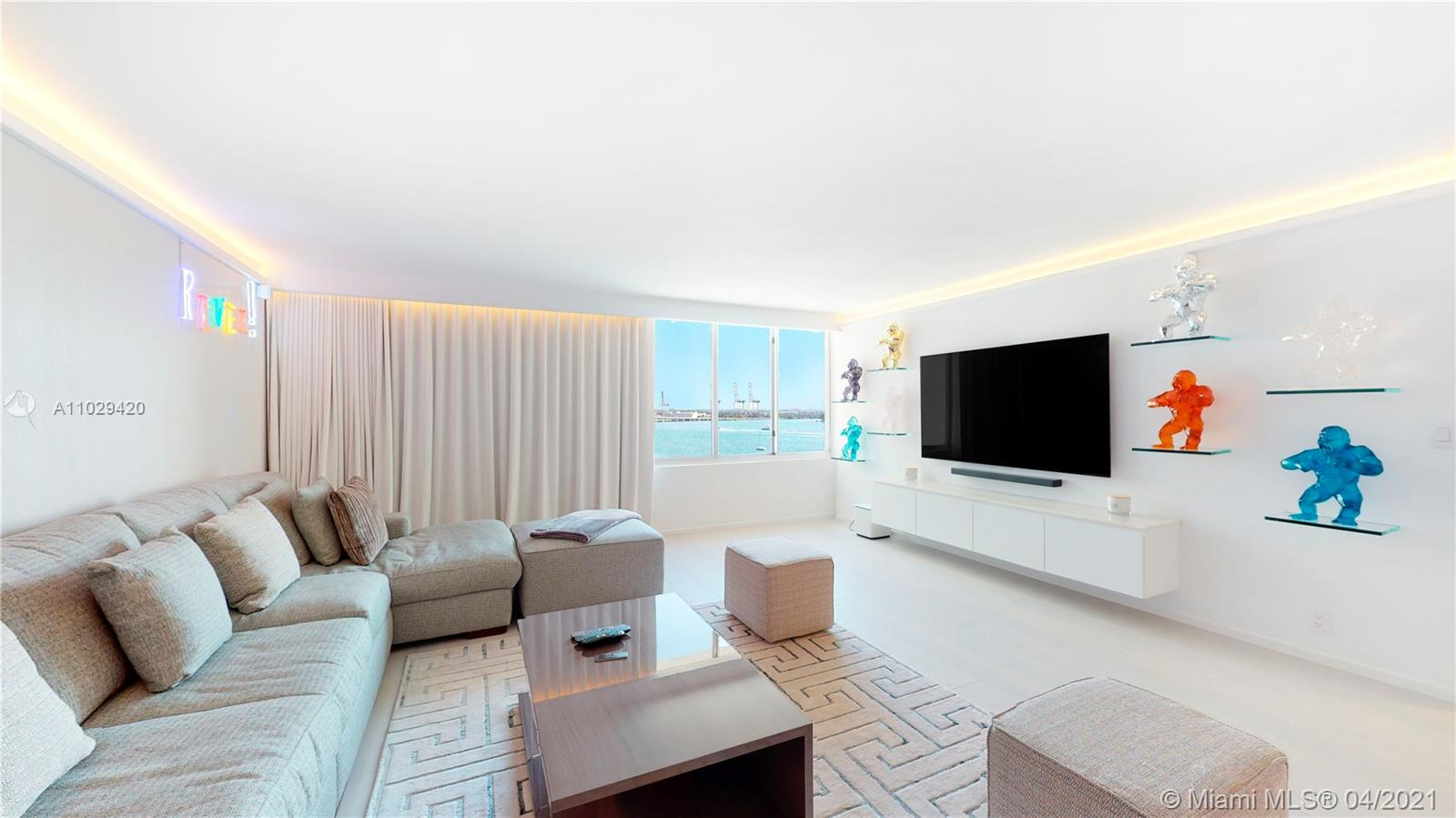 Best Location in South Beach. Incredible Remodel. Italian Finishes throughout including marble and Onyx bathroom. More than 150K spent. Never Lived In, Ready to move in. Call Listing agent for showings!!!