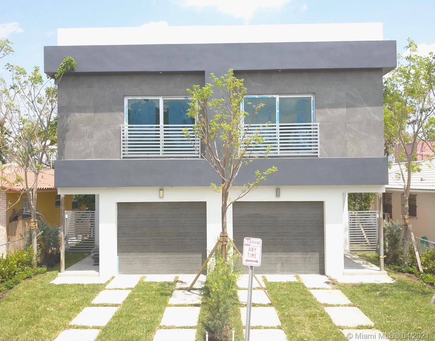 """***ATTENTION ***STUNNING MODERN BRAND """"NEW CONSTRUCTION"""" 4 BED 3.5 BATH TOWNHOUSE WITH POOL. 2 MASTER BED.2431 SQFT. GREAT FLOOR PLAN WITH TOP FINISHES. MODERN ITALIAN KITCHEN WITH CALACATTA COUNTERTOPS. FULLY EQUIPPED WITH IMPACT WINDOWS AND DOORS. AMAZING LOCATION, JUST A FEW MINUTES AWAY FROM CORAL GABLES, COCONUT GROVE, AND THE MIA AIRPORT .2 BLOCKS AWAY FROM CORAL GABLES HOSPITAL AND NEIBY RESTAURANTS AND SHOPPING."""