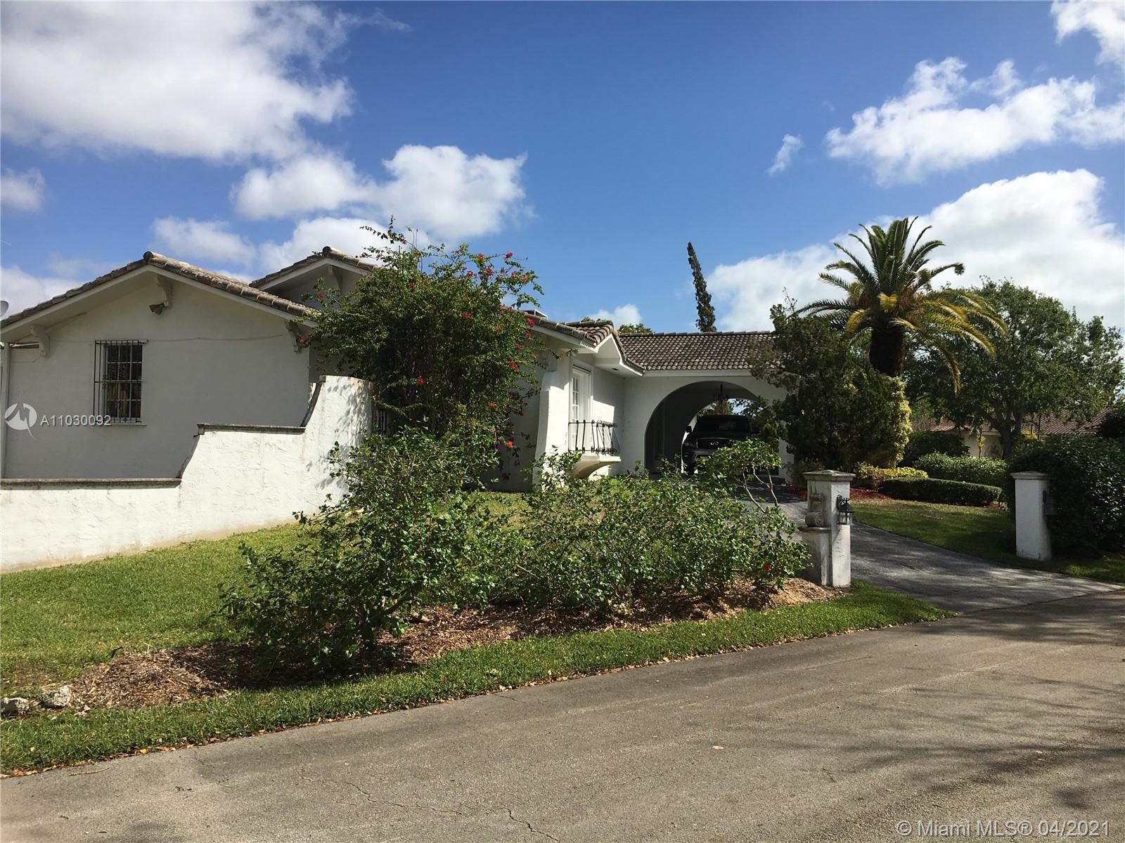 5901 SW 136th St  For Sale A11030092, FL