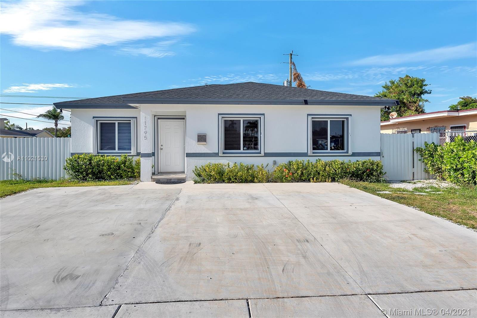 New Construction Single Family Home built in 2019. Large corner lot, fenced in yard. Room for Boat/Pool/RV and outdoor kitchen. Fully tiled with granite kitchen and stainless steel appliances. Property is a 4 bedroom 2 bath home. Easy to show. ****READ BROKER REMARKS****