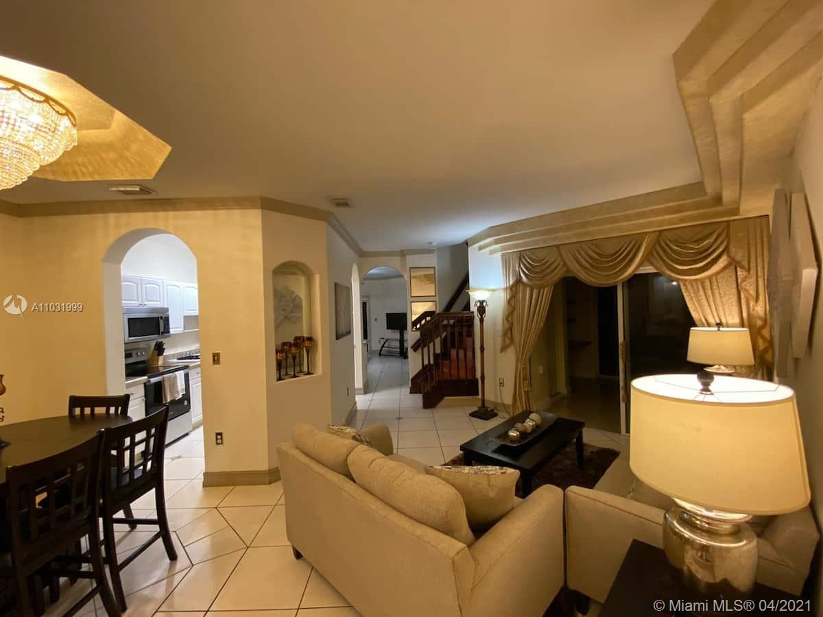 This spacious 4Bedroom/2.5Baths house is centrally located in the heart of Miami, within a 5 to 20 minutes ride to amazing attractions, like Miami Beach, Brickell, Downtown, MIA, Dolphin Mall, etc. You will also find public parks, restaurants, and supermarkets very close by. The house has comfortable sleeping arrangements for up to 18 guests, and with two levels, a full kitchen, and a nice backyard, you, your family, fully furnish. AVAILABLE 8-1-21