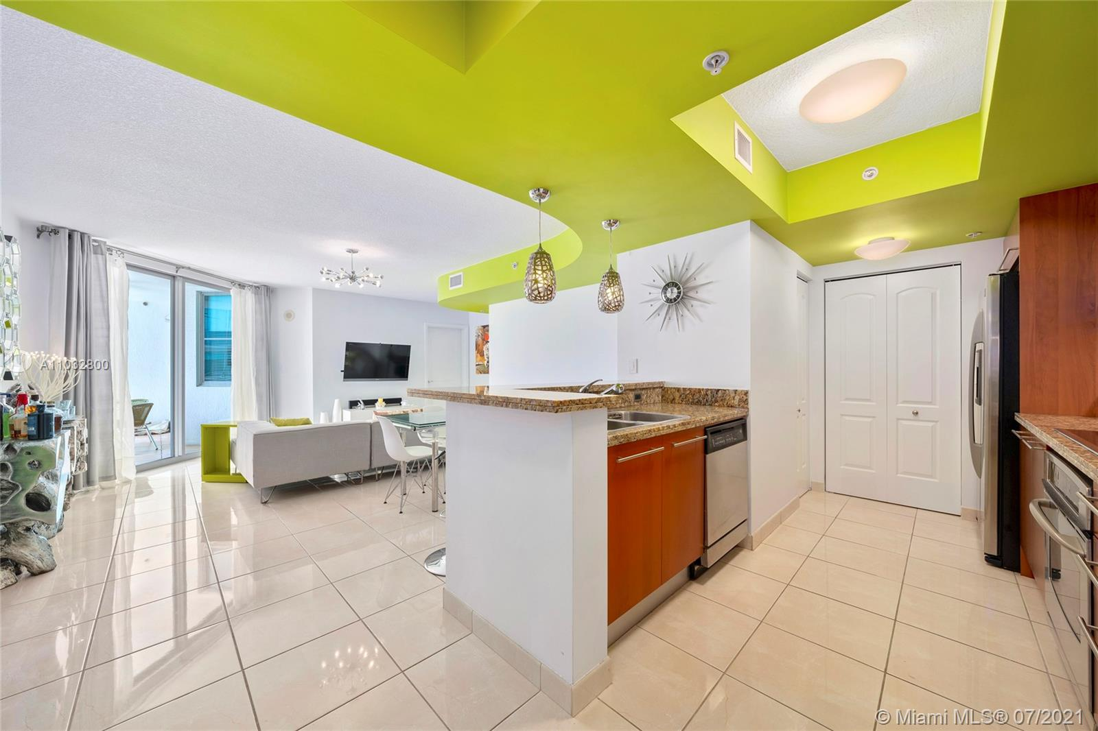 """Offering spacious 2 bed & 2.5 bath in the Cosmopolitan Residences in heart of South-of-Fifth (""""SOFI"""") in Miami Beach, Florida, steps to beach, ocean, & marina.  Split plan w/ 2 in-suite walk-in closets, built-in cabinetry & bathrooms both w/ combination showers & tubs.  Top floor residence w/ spacious balcony.  Unit amenities include 1 assigned parking & separate storage locker.  Perfect for the jet-set as may be leased 2 times per year.  The Cosmo offers boutique luxury living in a full-service mid-rise w/ 24-hr doorman, security, valet & on-site management.  Amenities include heated-infinity-edge pool, hot tub, gym, club room & valet.  Pet-friendly.  Live near the best restaurants: Prime 112 & Fish, Joe's Stone Crab, Milos, Red, Papi Steak, & other local cafes.  Furniture negotiable."""