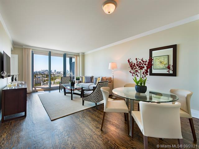 Gorgeous residence with wood floors at the Boutique Oceanfront Michael Graves Condo where ocean drive is at your front door and the ocean at your backyard. Exquisite decor! Full service with luxurious amenities such as private beach area w/ lounges/cabanas, 24 hr valet/security/front desk, gym/spa, heated pool/jacuzzi. All services deliver w/ a smile. No need to ever drive!! Walk to world-class dining, New World Symphony, Lincoln Road or Espanola Way.