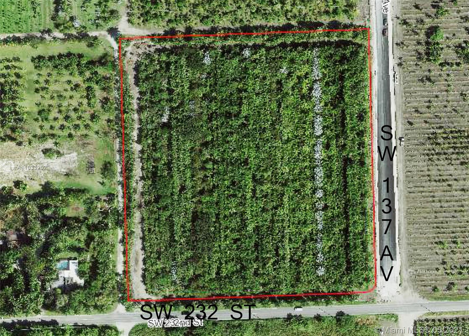 SW 137 ave  For Sale A11033252, FL