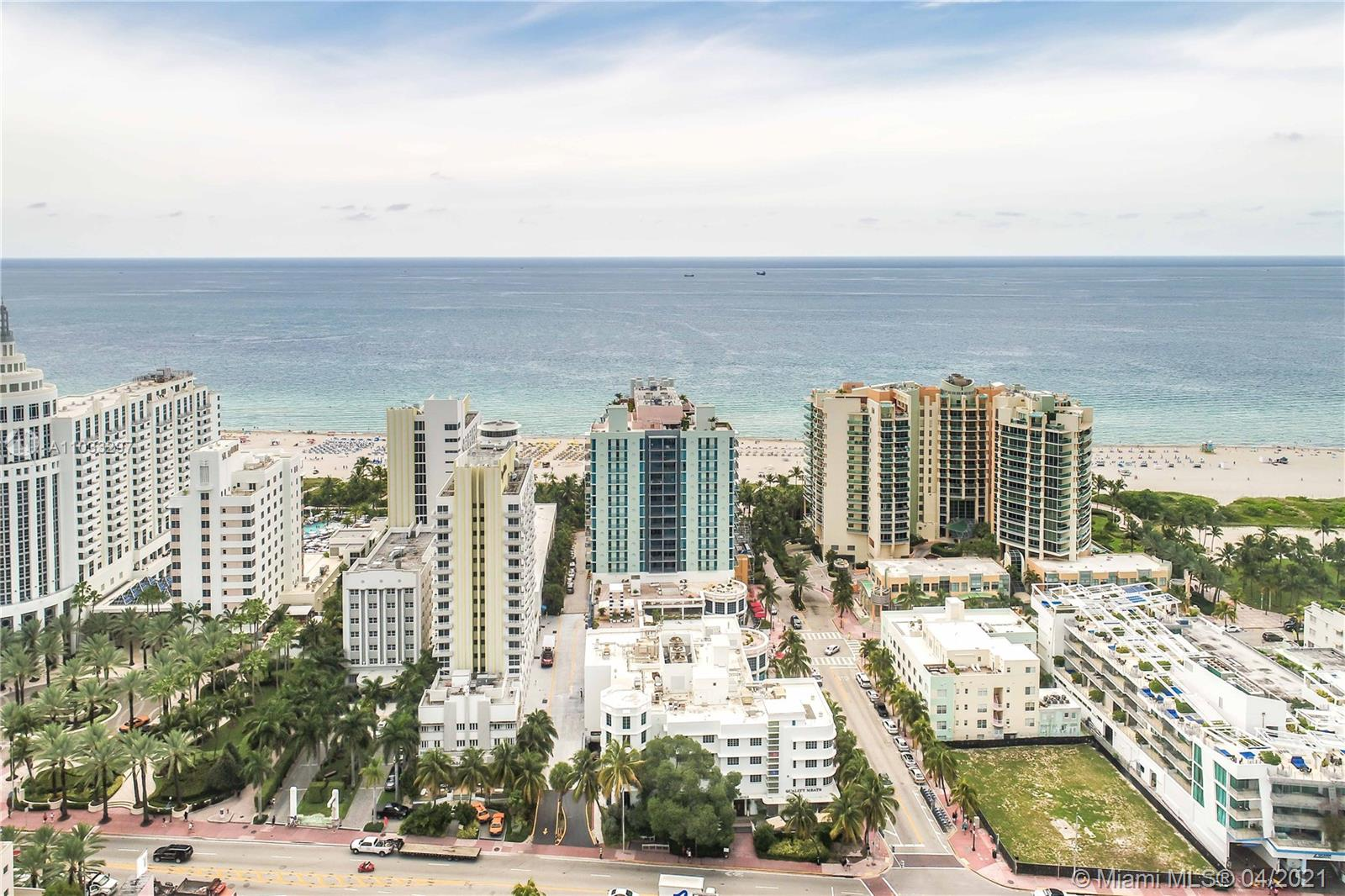 Updated + Upgraded make this condo unique at 1500 Ocean, an oceanfront, full service building by famous architect Michael Graves. The 2nd Bedroom is open to add extra space to living areas (it can be reconverted). Floor to ceiling windows, walk-in closet and views to the ocean from the living room and the terrace. Enjoy the South Beach lifestyle!