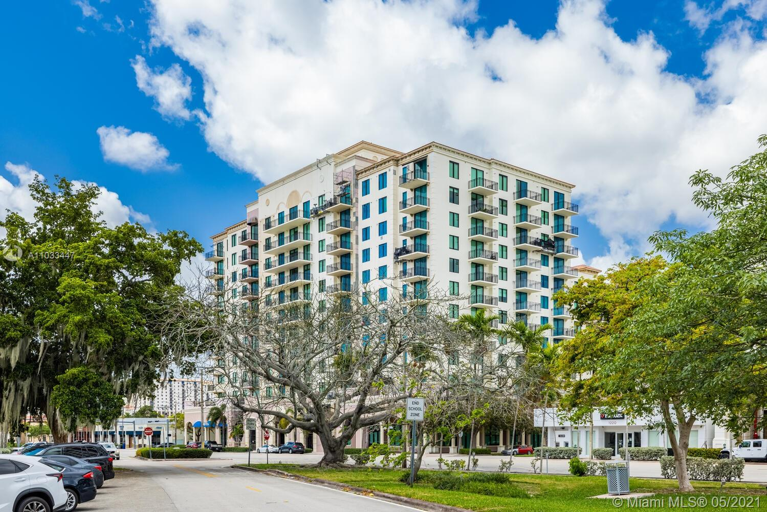 Beautiful 1/1.5  Plus Den , condo with balcony in Downtown Coral Gables. Amenities include gym, large pool, 24 hour security , 1300 Ponce de Leon is now introducing a truly unique condo to the luxury market!!! Catch the Coral Gables Trolley right outside your building door and take a two-minute ride to Miracle Mile. Enjoy the unique lifestyle offered by 1300 Ponce in the City Beautiful!