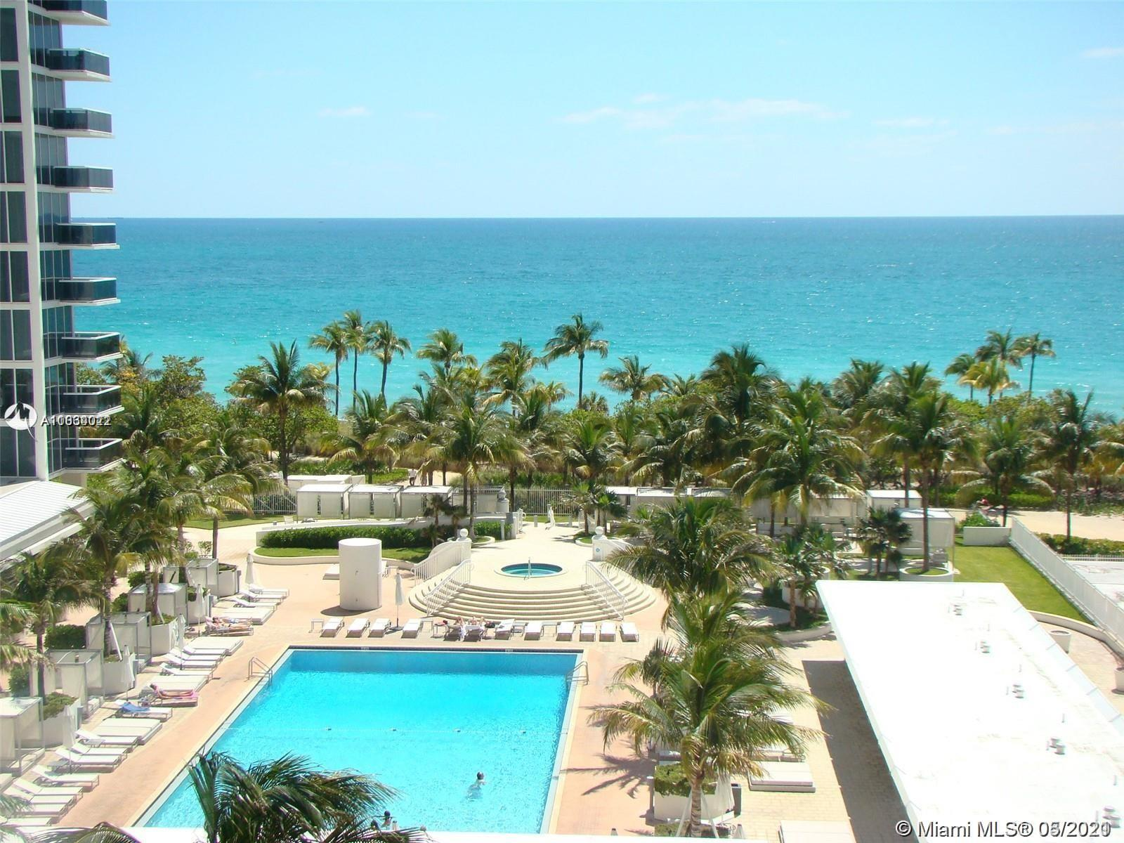 Beautiful 2 bedroom 2 bathroom, direct ocean view in the heart of bal harbour. Unit is being remodeled Ready by August 1st 2021.