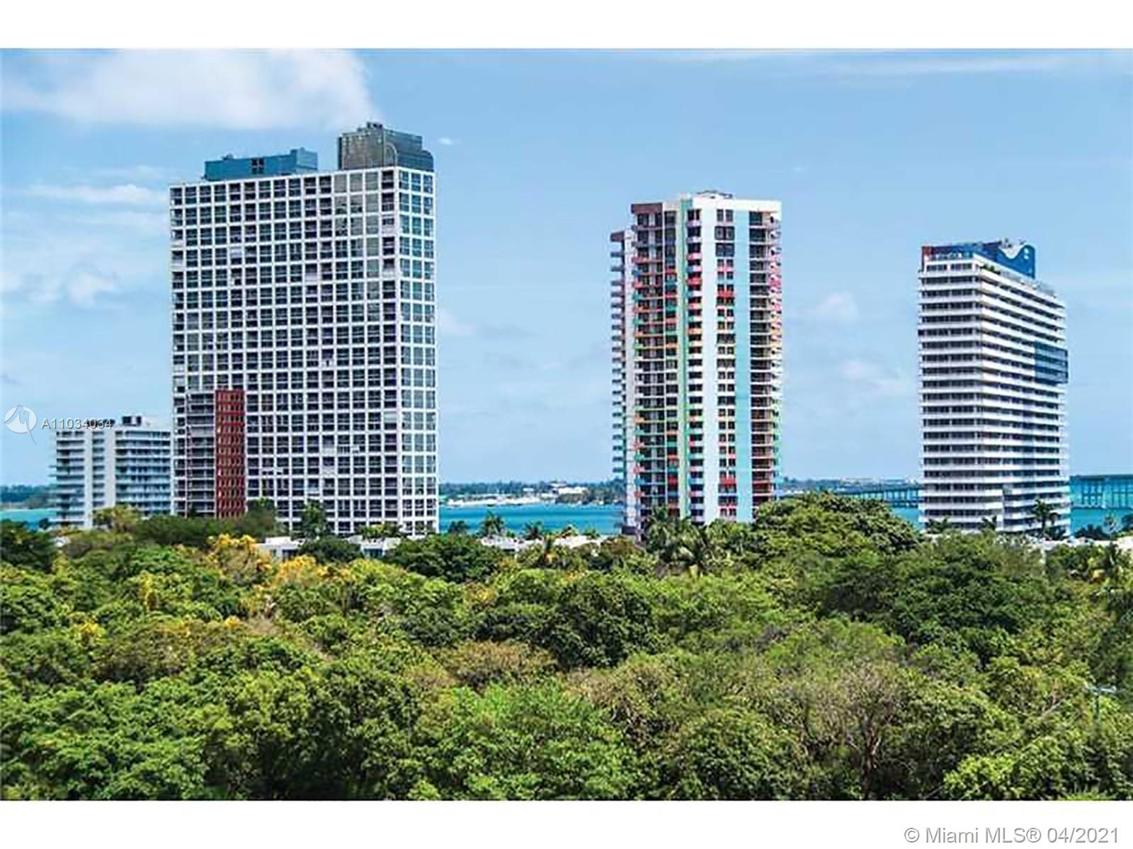 Amazing 2/2 unit at Le Parc Brickell.  Impeccable boutique building with just 128 units designed by architect Luis Revuelta. Privileged location with unobstructed views of Simpson Park. European style kitchen and bathroom cabinetry, stainless steel appliances and porcelain glass enclosed showers. 6 feet deep private glass balcony. Beautiful common areas including Pool, Spa, Fitness Center, Children Play Room.  Spacious-Indoor parking area, Roof-top sky lounge with Jacuzzi, Clubroom and state-of-the-art fitness center, Business lounge with conference room, Kid's entertainment room, Pet-friendly environment. Includes wi-fi Internet, Cable, water, 1 assigned parking space..