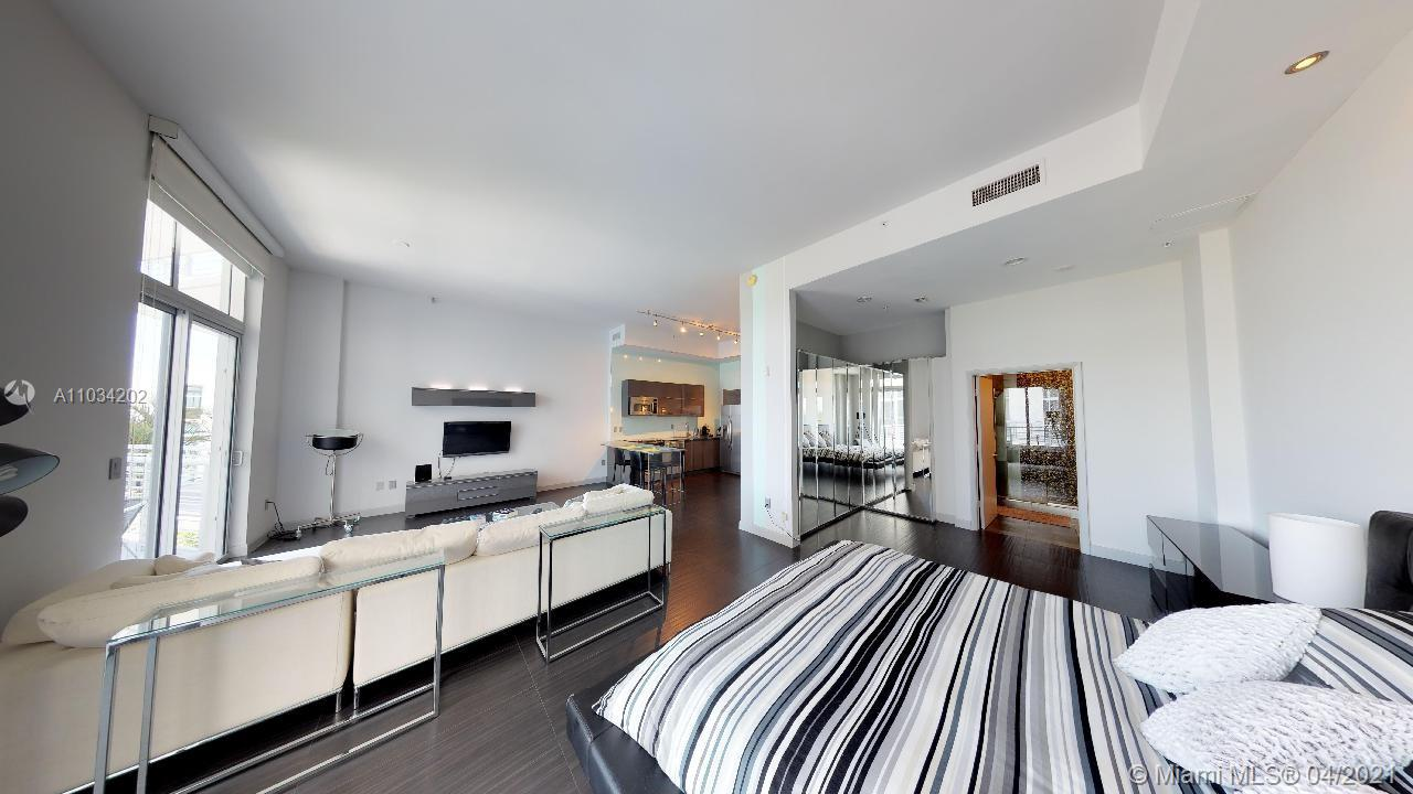 Walk inside this unit right now by just clicking on the 3D Virtual Tour in this listing. Top of the line condo loft substantially renovated, tastefully designed and decorated. The bathroom in this unit is second to none. Live in the heart of Miami Beach, close to everything and at the same time far enough for the quiet enjoyment of your residence. Relax having breakfast at the patio overlooking a beautiful view of the golf course. The common areas of the building have been recently upgraded and look amazing! This unit has plenty of storage space and washer and dryer are inside. Walking distance to the movie theater, to the Lincoln Road restaurants and entertainment, to the beaches, and to the Art Basel. Amenities include a gym, a rooftop pool, and 24h Security.