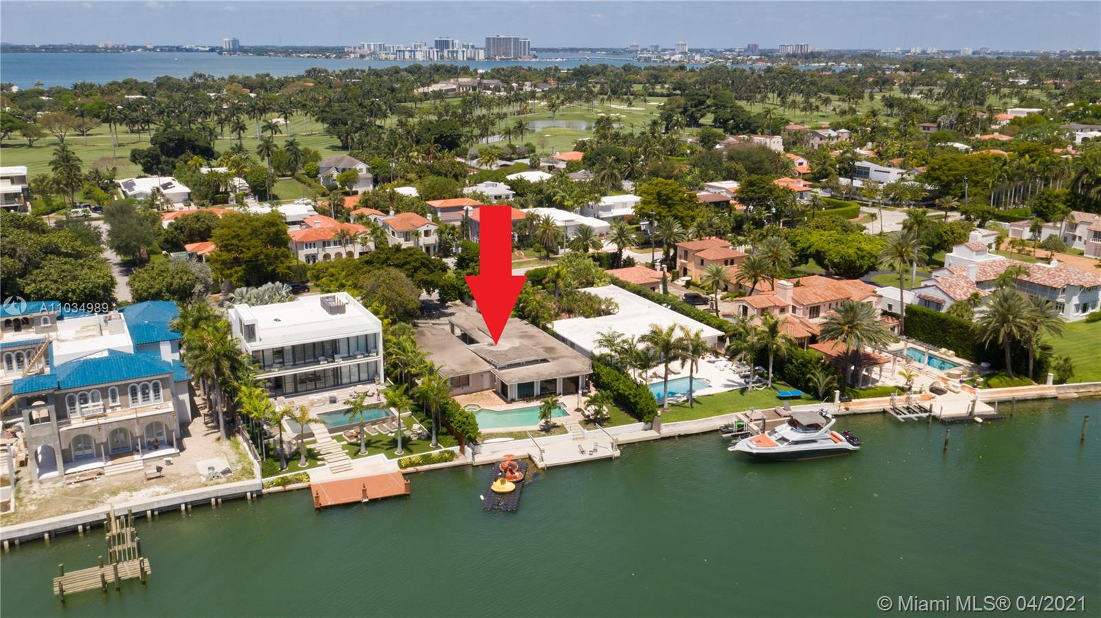 5515  Pine Tree Dr  For Sale A11034989, FL