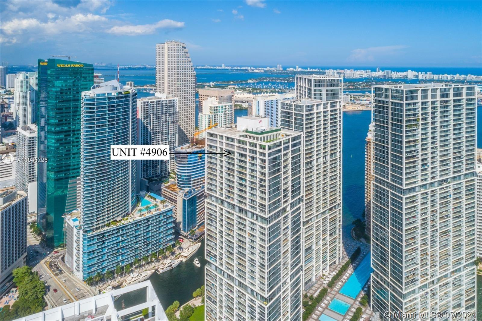 PENTHOUSE 49th Floor 1 Bedroom 1 Bath * AIRBNB/Short-Term Rental Allowed * 842 sqft Unit. Can be Sold AS IS fully furnished for an additional $5,000.